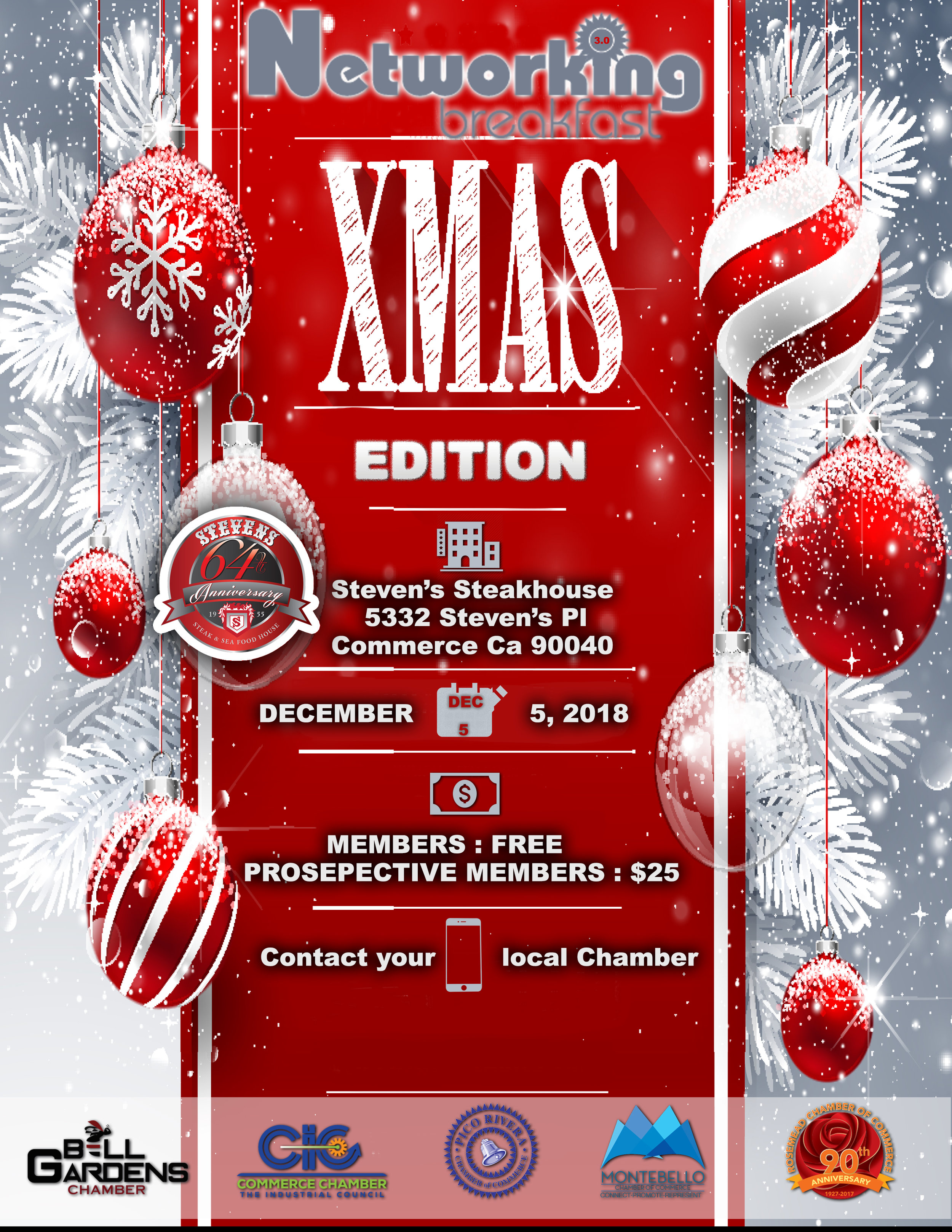 Networking 3.0 xmas edition - December 5th, 2018