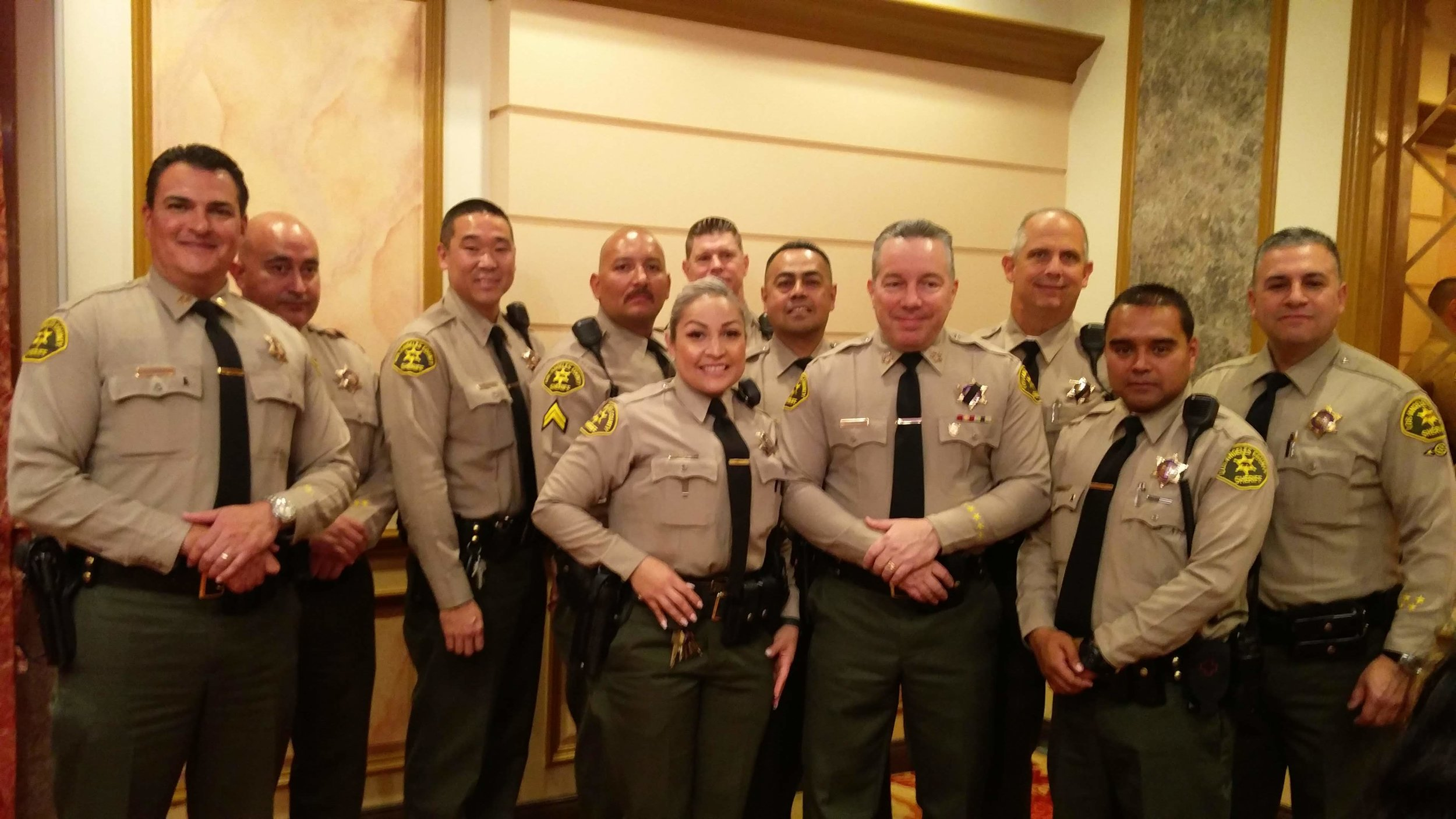 LASD Sheriff Alex Villanueva Welcome Luncheon, January 2019