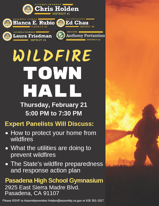 wildfire town hall - February 21st, 2019