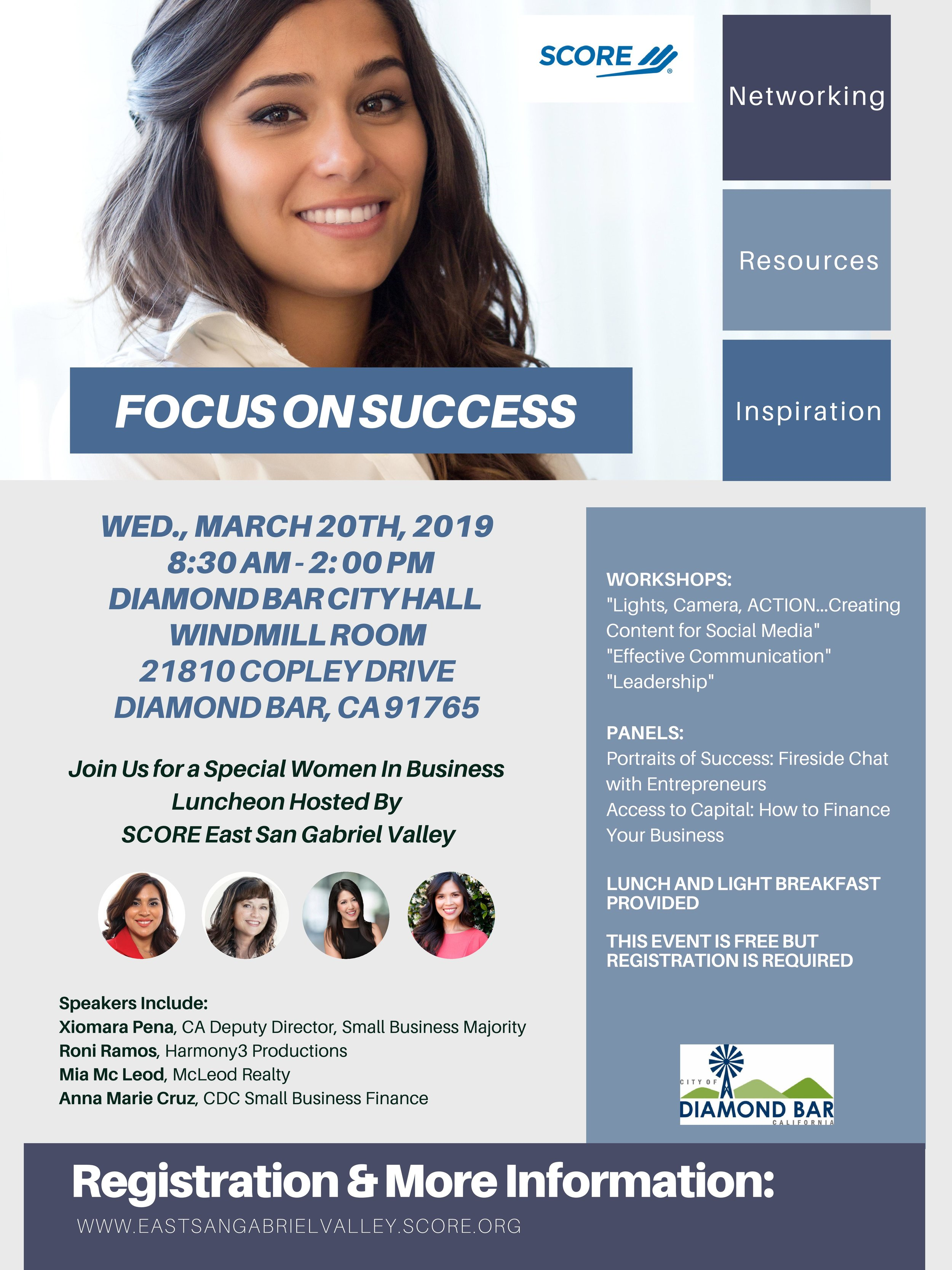 women in business - focus on success - March 20th, 2019