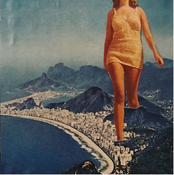 artist Madbutt digital collage