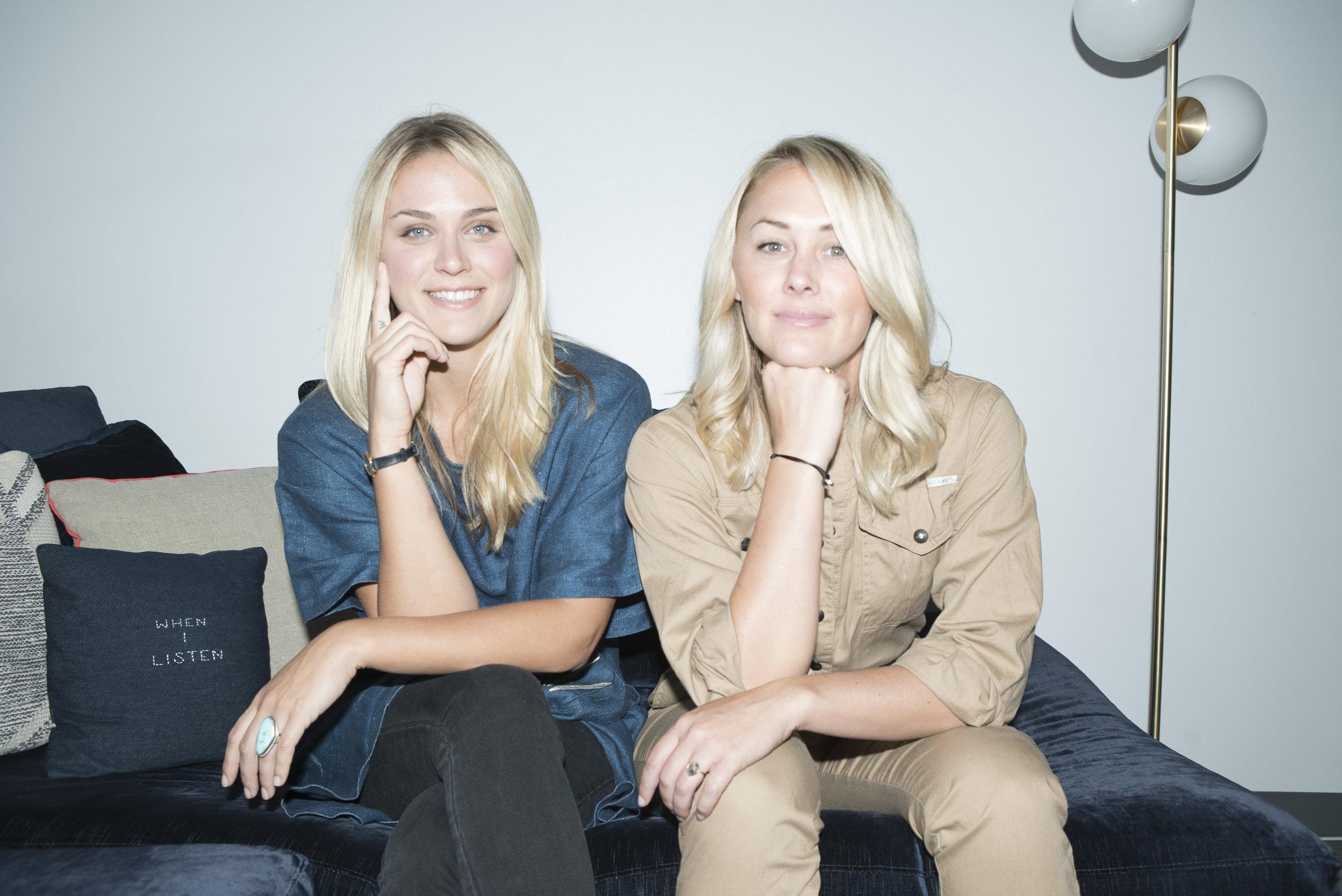 Ashley Sumner and Gianna Wurzl
