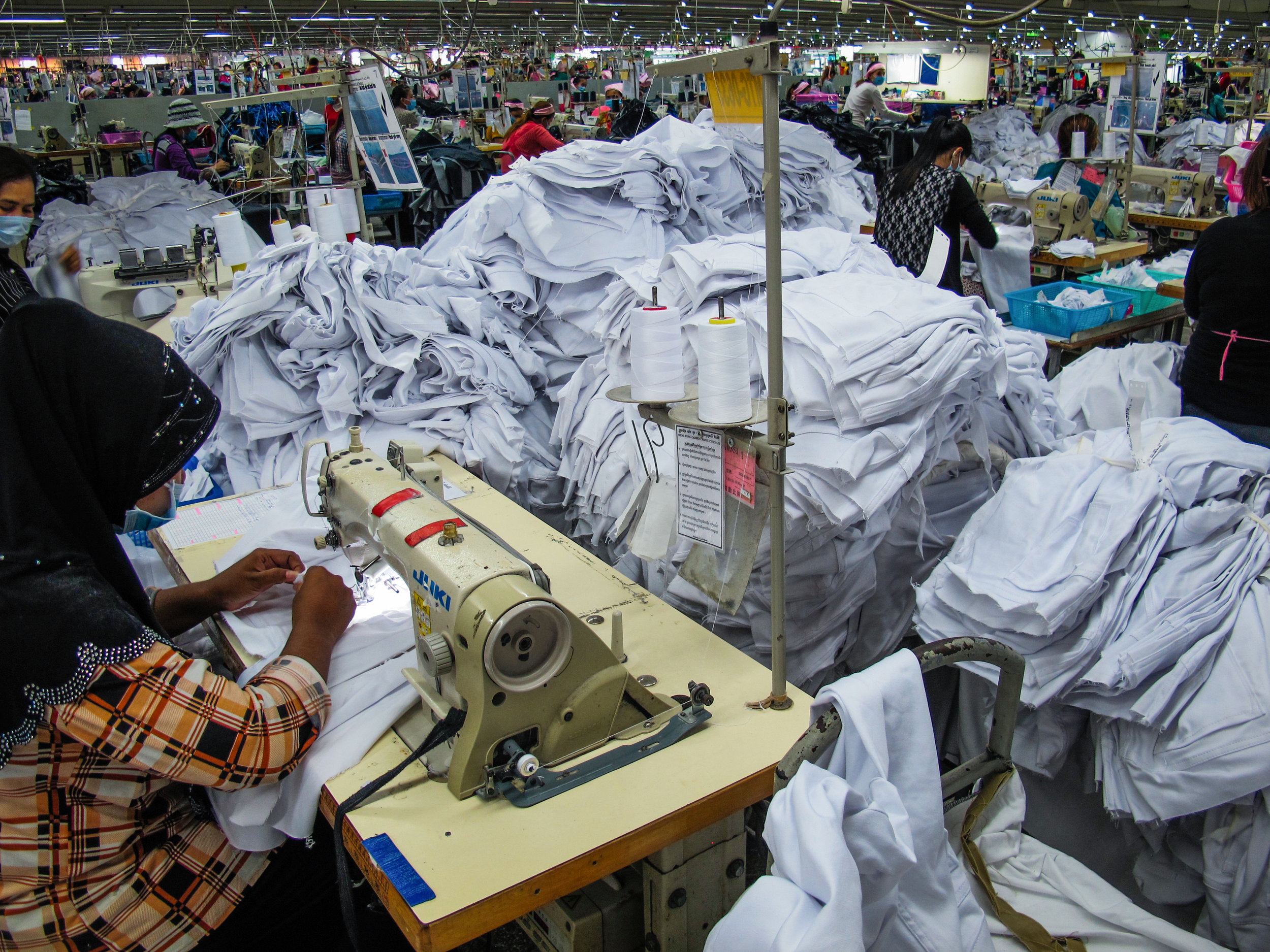 fast fashion factory sustainability