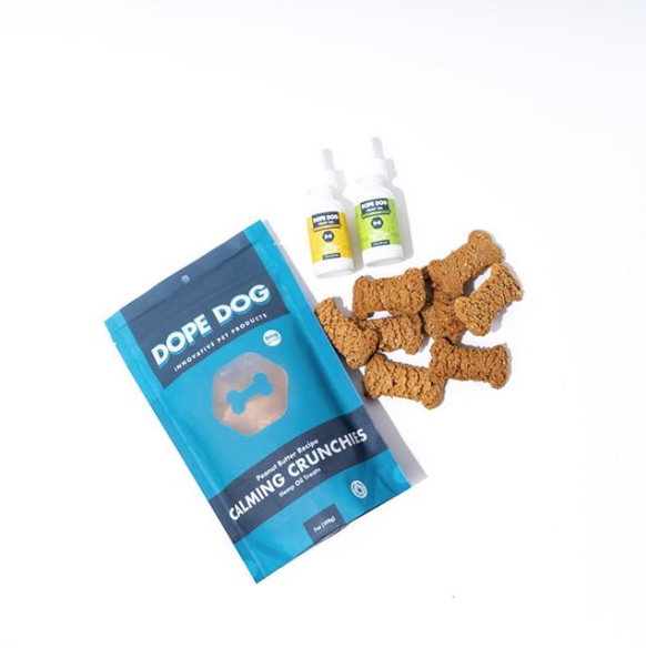 Dope dog treats