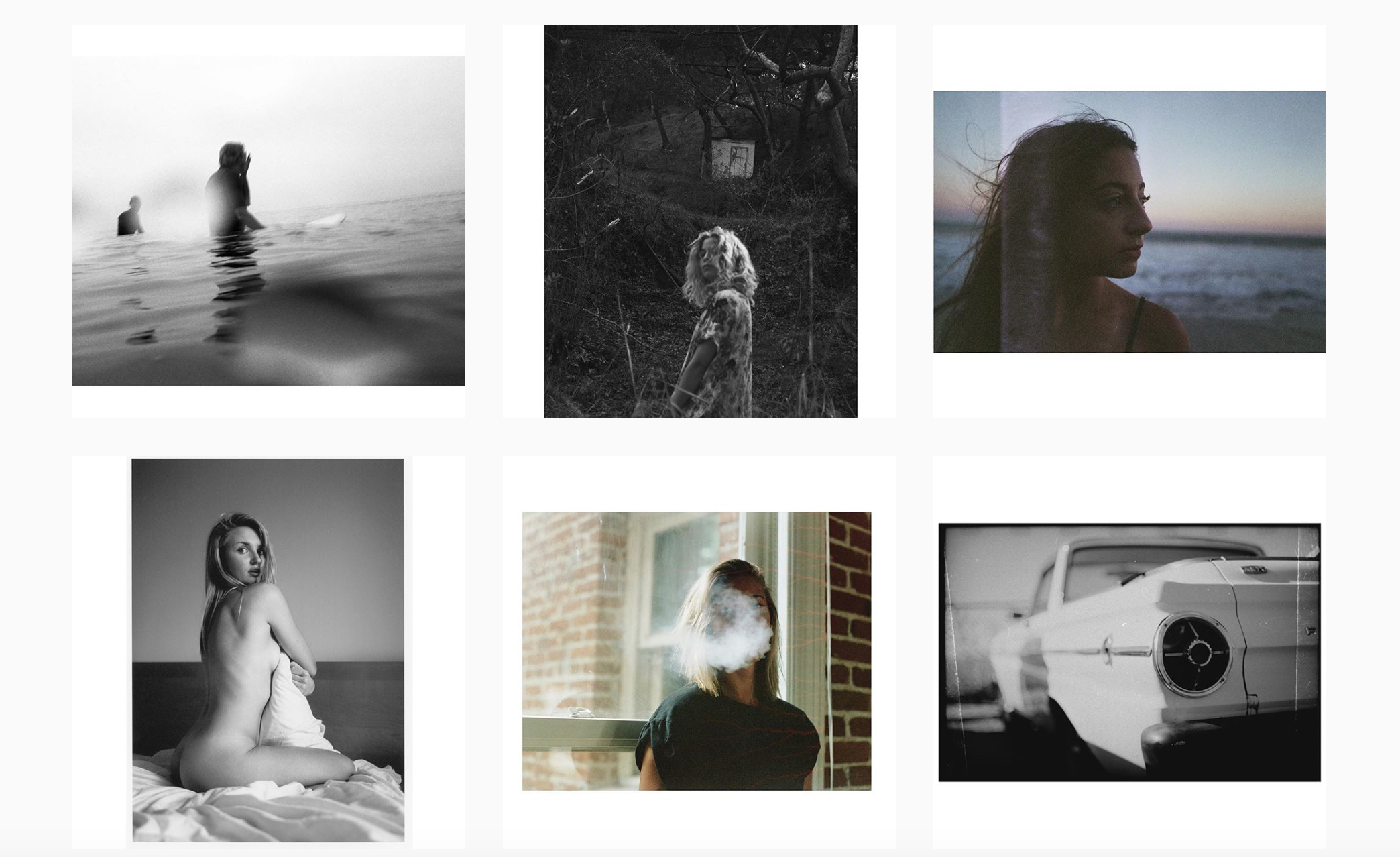 film photography portraits