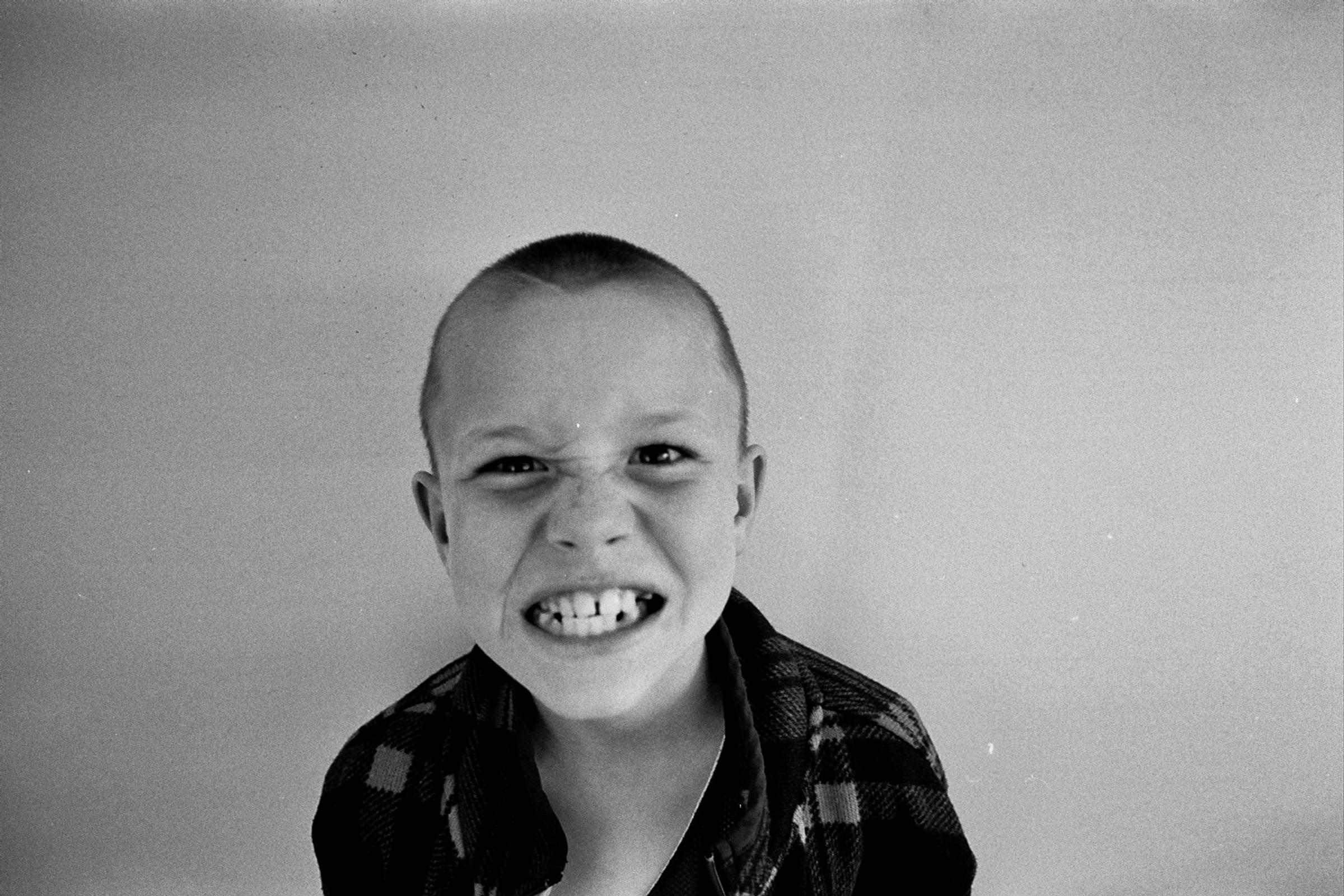 Film photography portrait