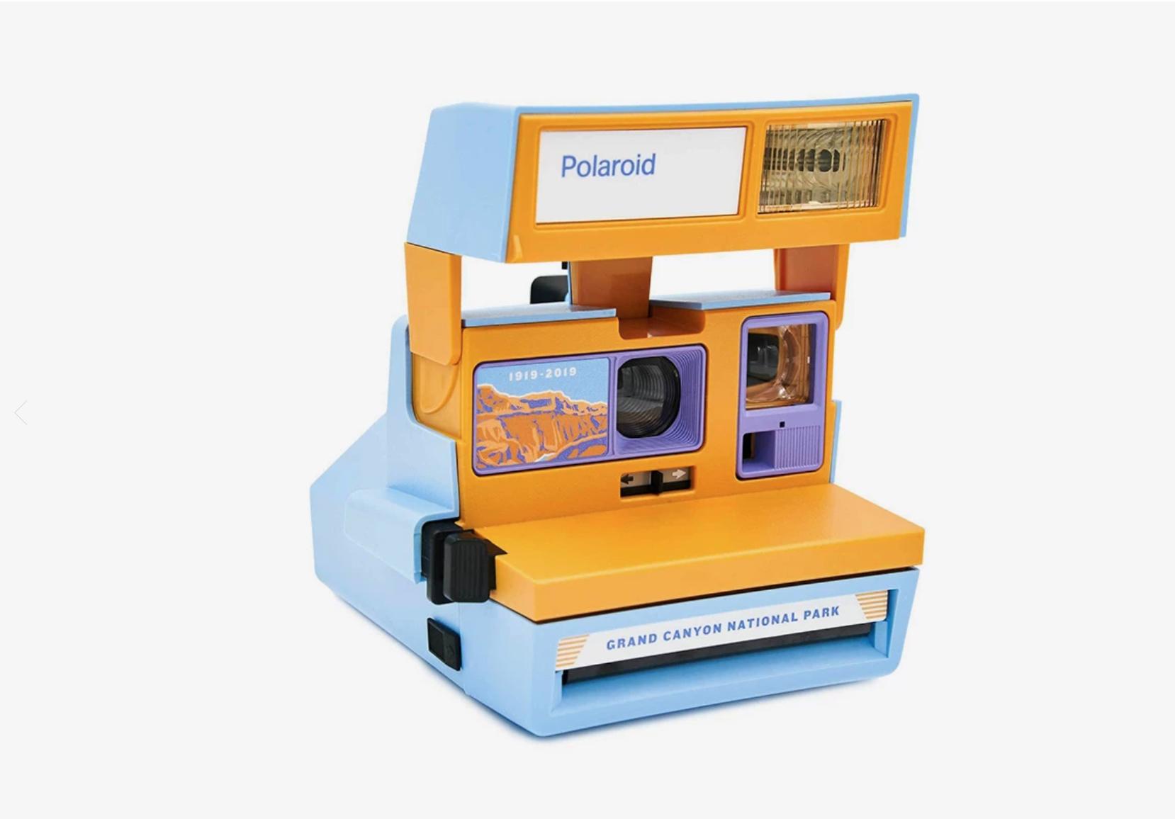 Grand Canyon polaroid camera Retrospekt and Parks Project