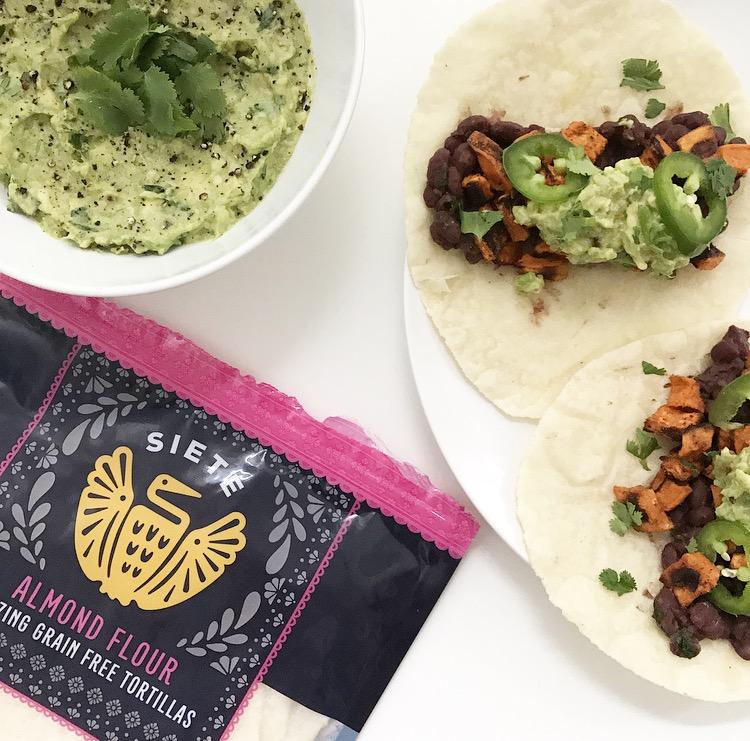 Sweet Potato + Black Bean Tacos -- The Life She Wanders
