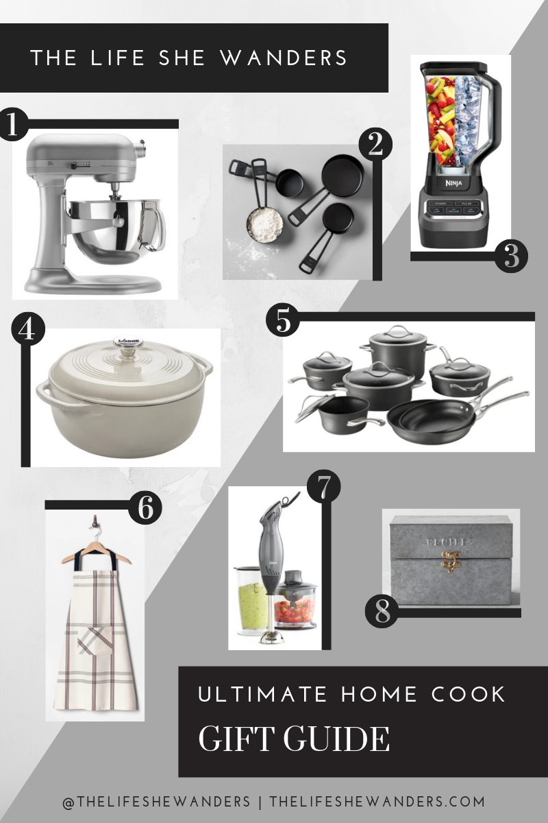 The Ultimate Home Cook Gift Guide - The Life She Wanders