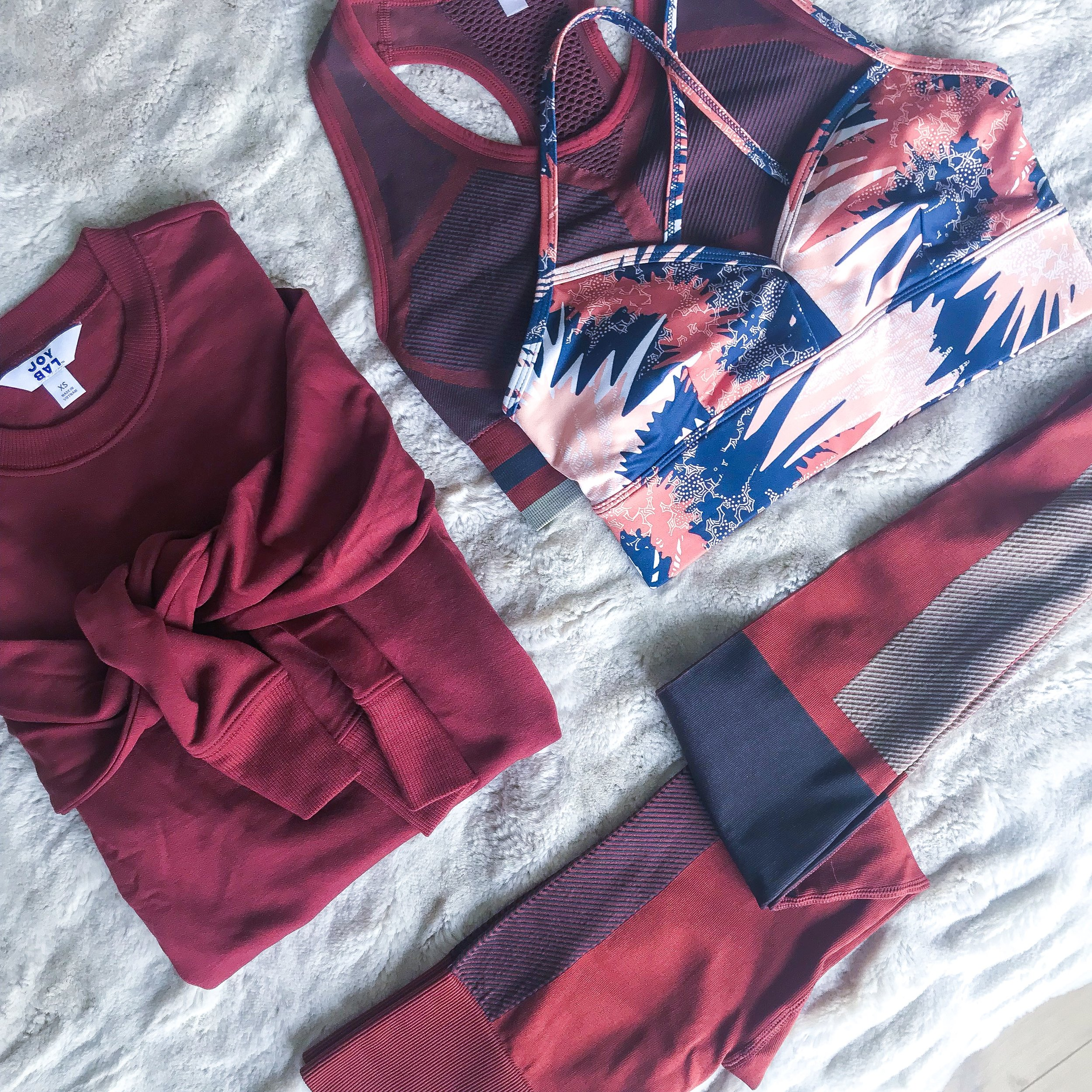 Mix-and-Match Activewear to Keep You On Track -- The Life She Wanders