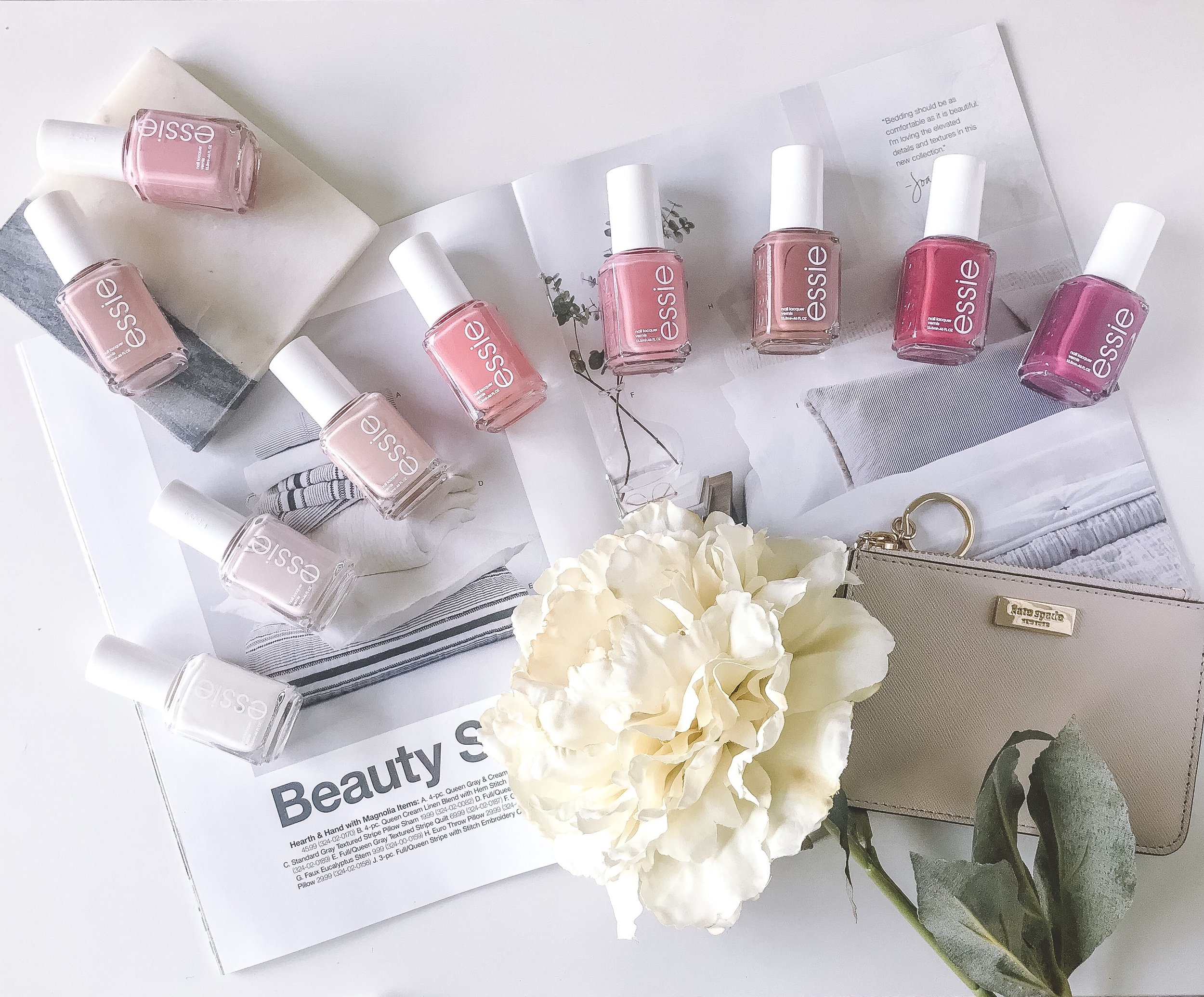 10 Must-Have Nail Colors for Spring -- The Life She Wanders