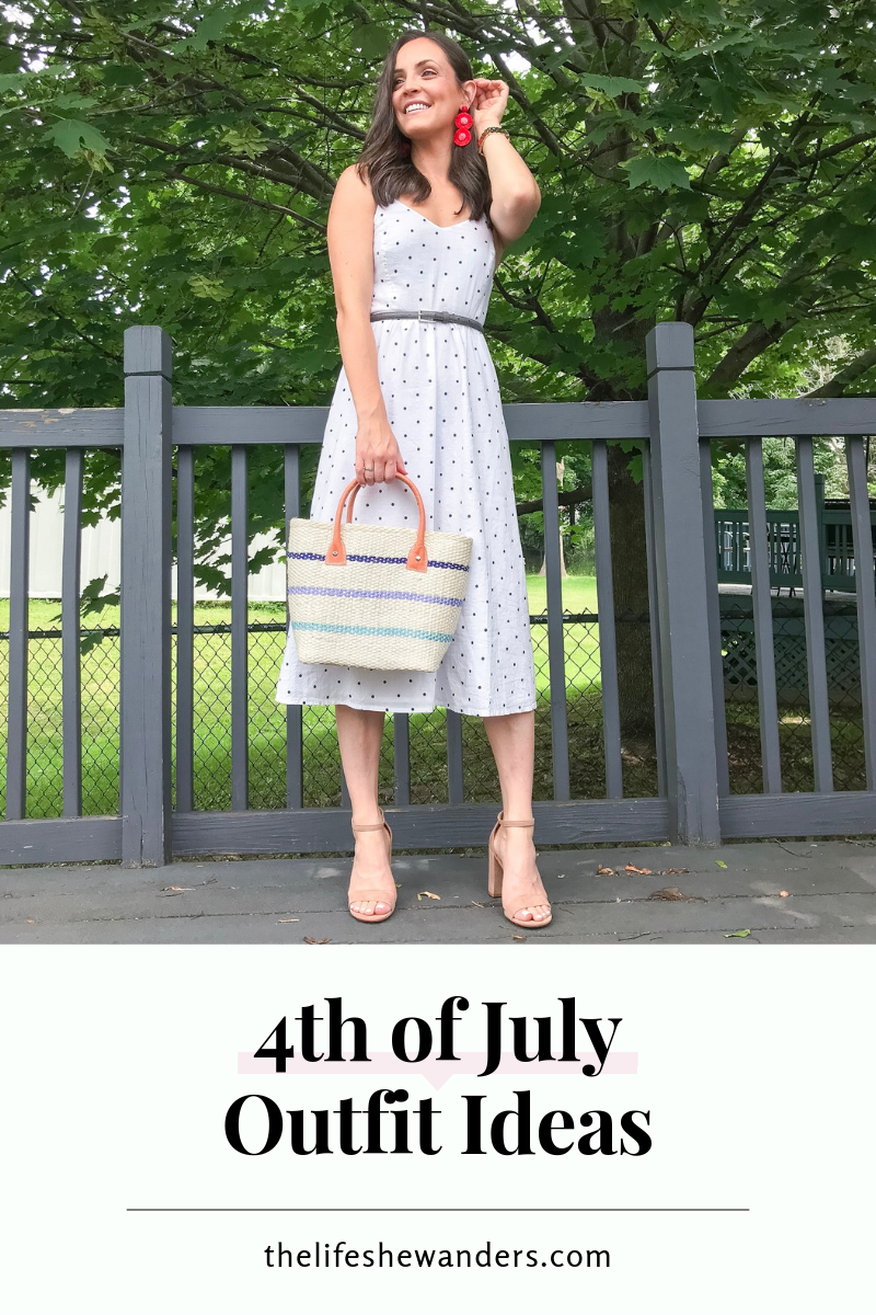 4th of July Outfit Ideas -- The Life She Wanders