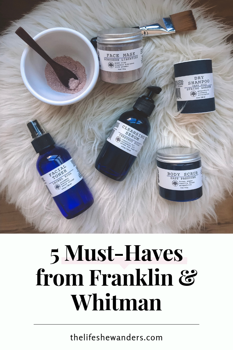 5 Must-Haves from Franklin & Whitman
