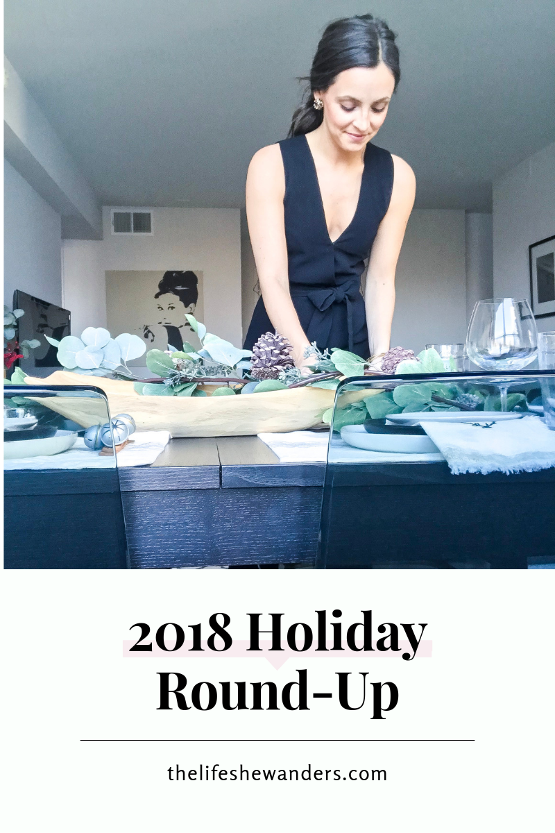 2018 Holiday Round-Up -- The Life She Wanders
