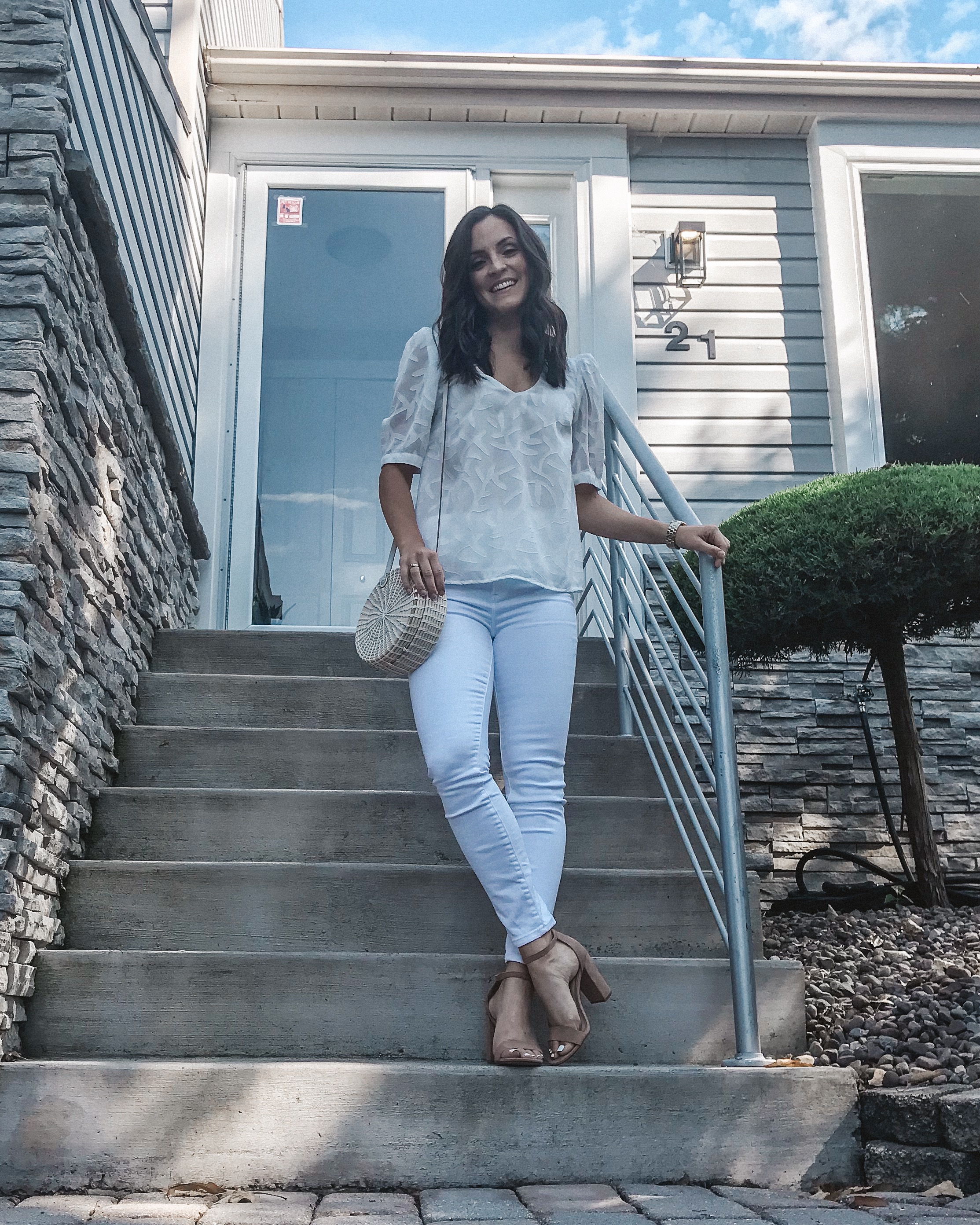 The Most Versatile White Blouse Styled 5 Ways -- The Life She Wanders