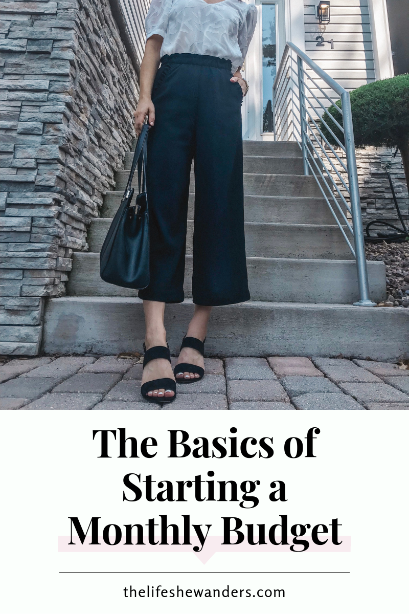The Basics of Starting a Monthly Budget -- The Life She Wanders