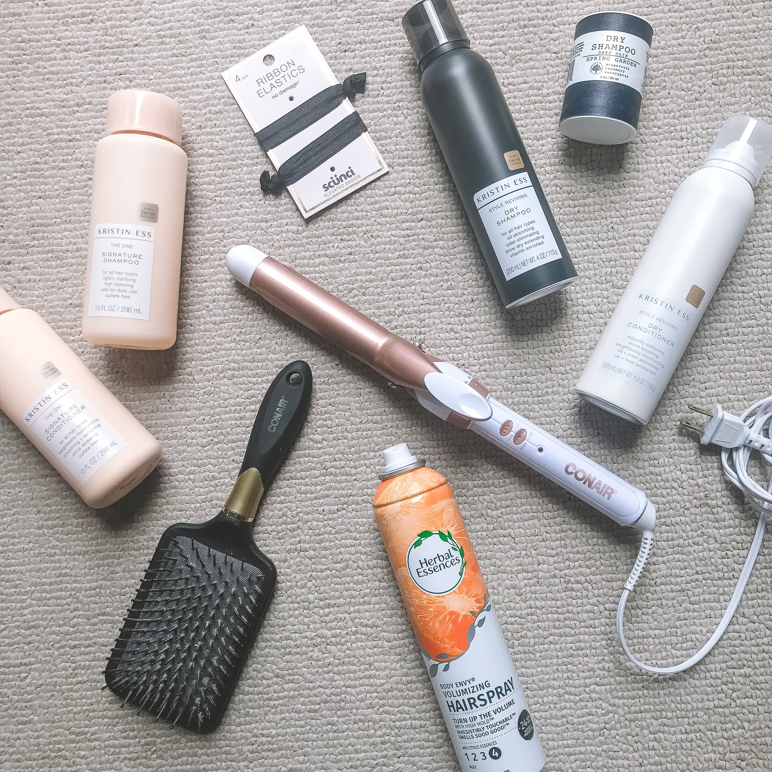 My Must-Have Hair Products -- The Life She Wanders