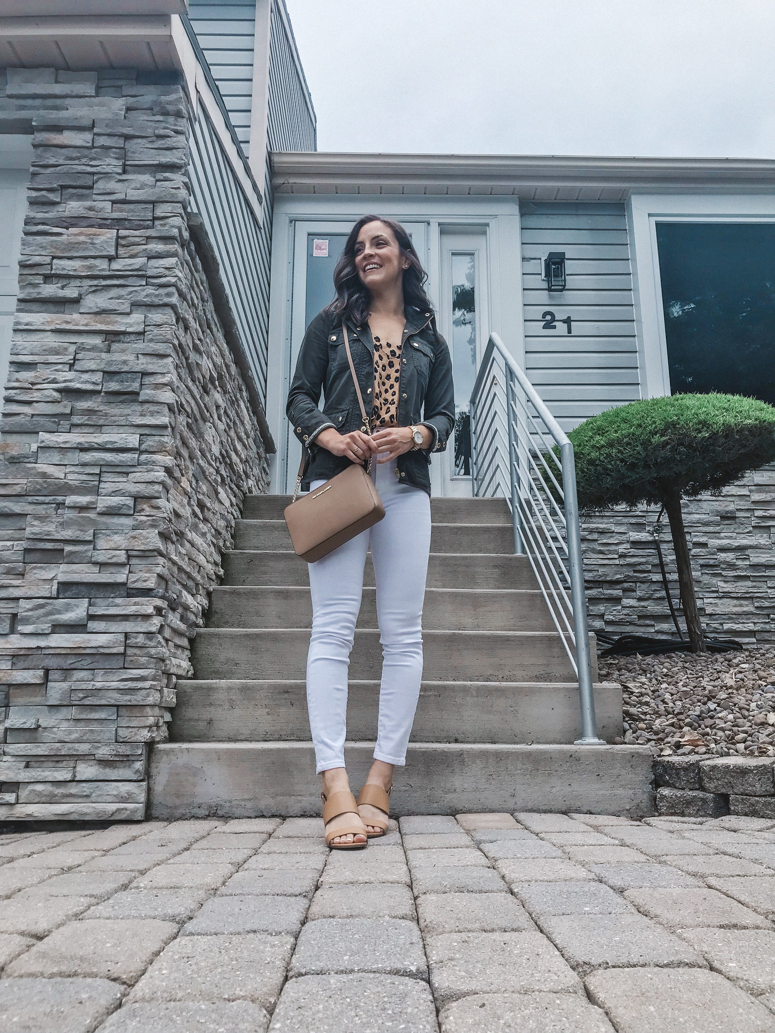 Leopard Print Cami Styled 4 Ways -- The Life She Wanders