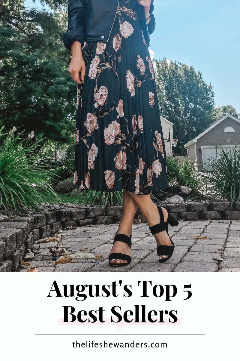 August's Top 5 Best Sellers -- The Life She Wanders