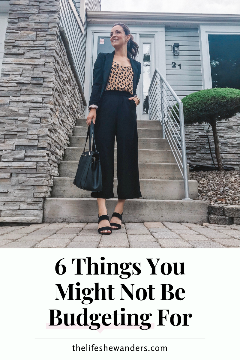 6 Things You Might Not Be Budgeting For -- The Life She Wanders