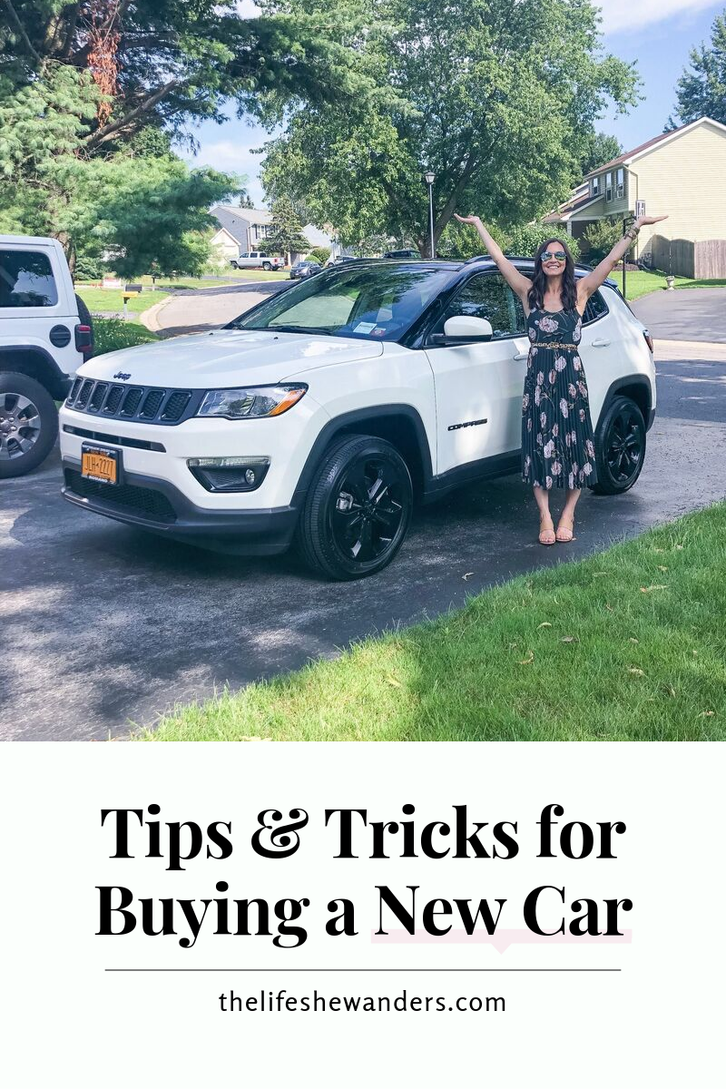 Tips & Tricks for Buying a New Car -- The Life She Wanders.png