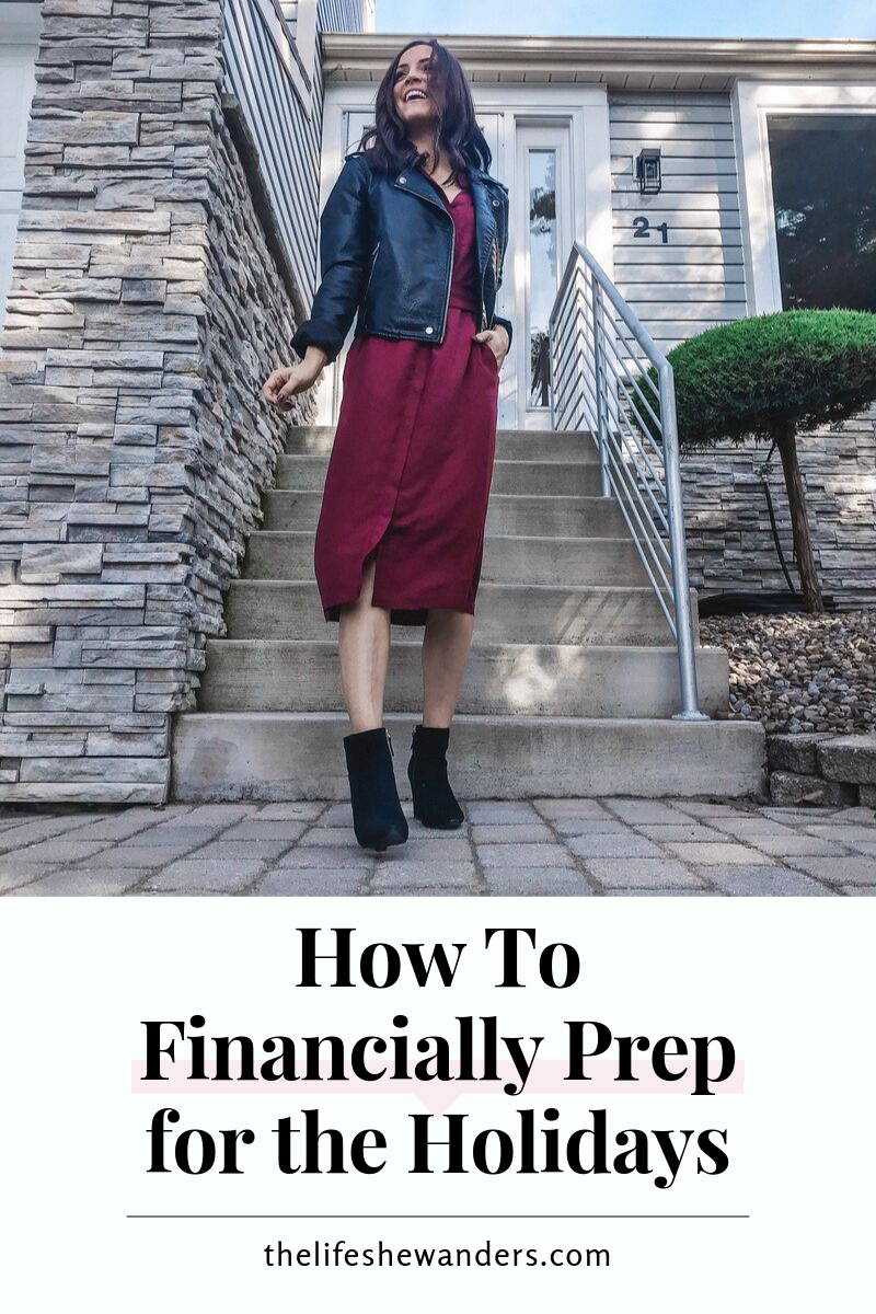 How To Financially Prep for the Holidays -- The Life She Wanders