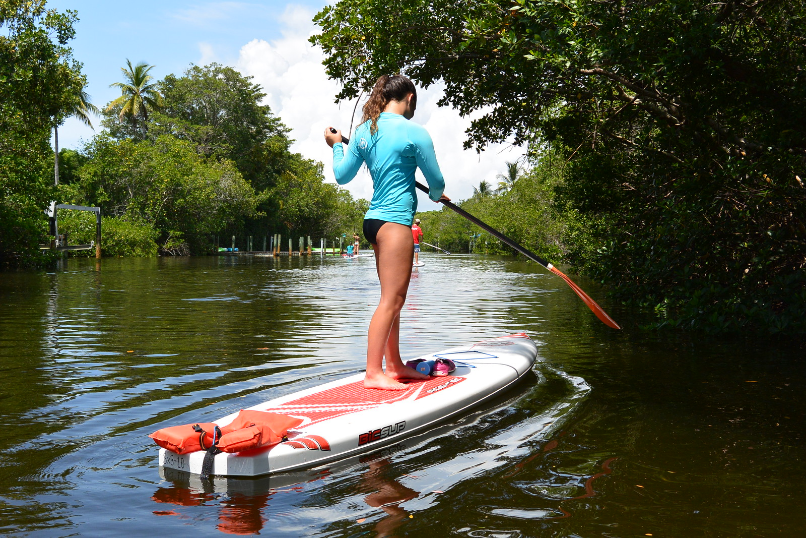 There are a few basic rules that will help you enjoy a safe paddling experience.