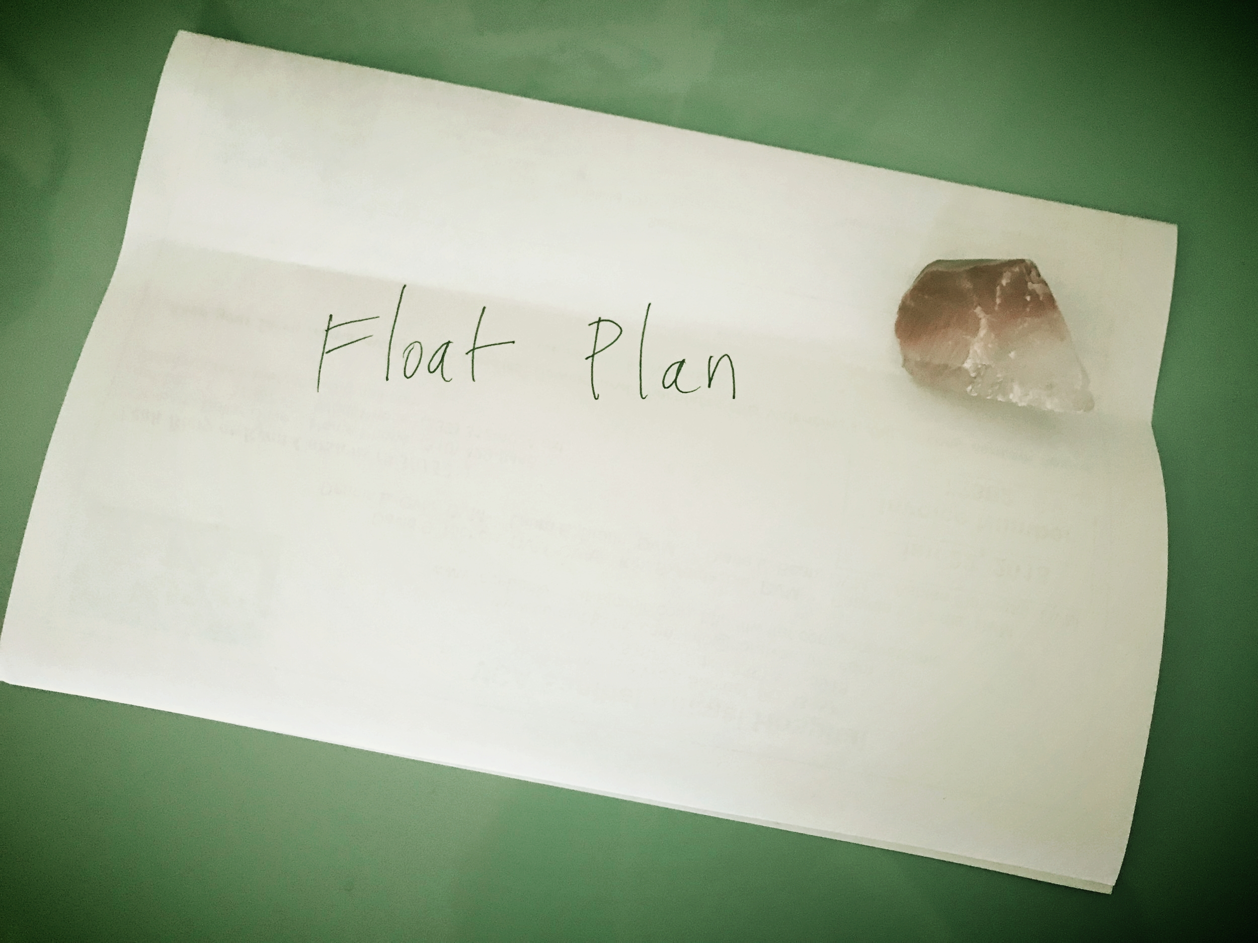A paddling float plan can take the form of a text message, a standard form, a note on a piece of paper, or something else entirely, as long as it includes the necessary information.