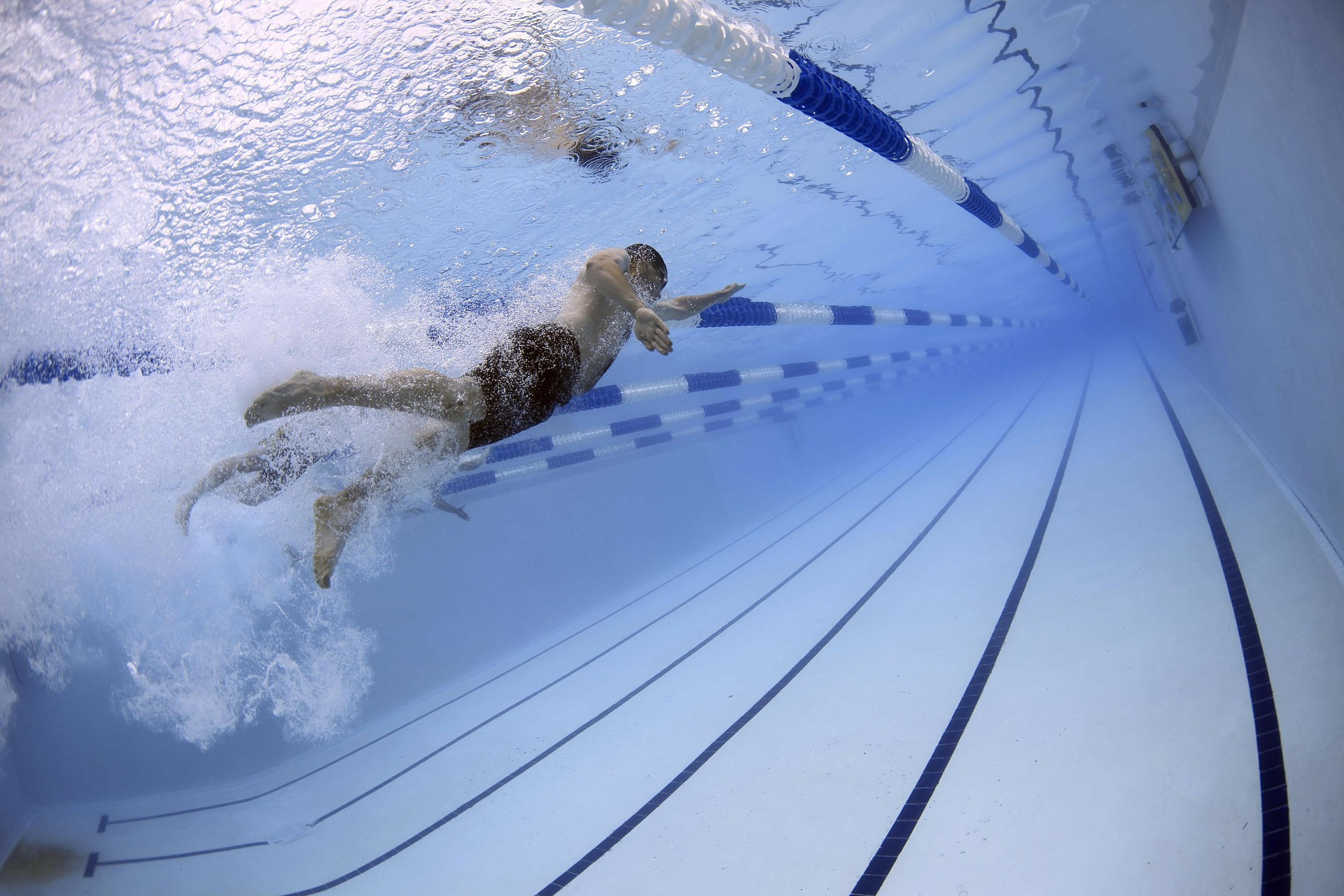 Swimming can provide beneficial cross-training for paddlers.