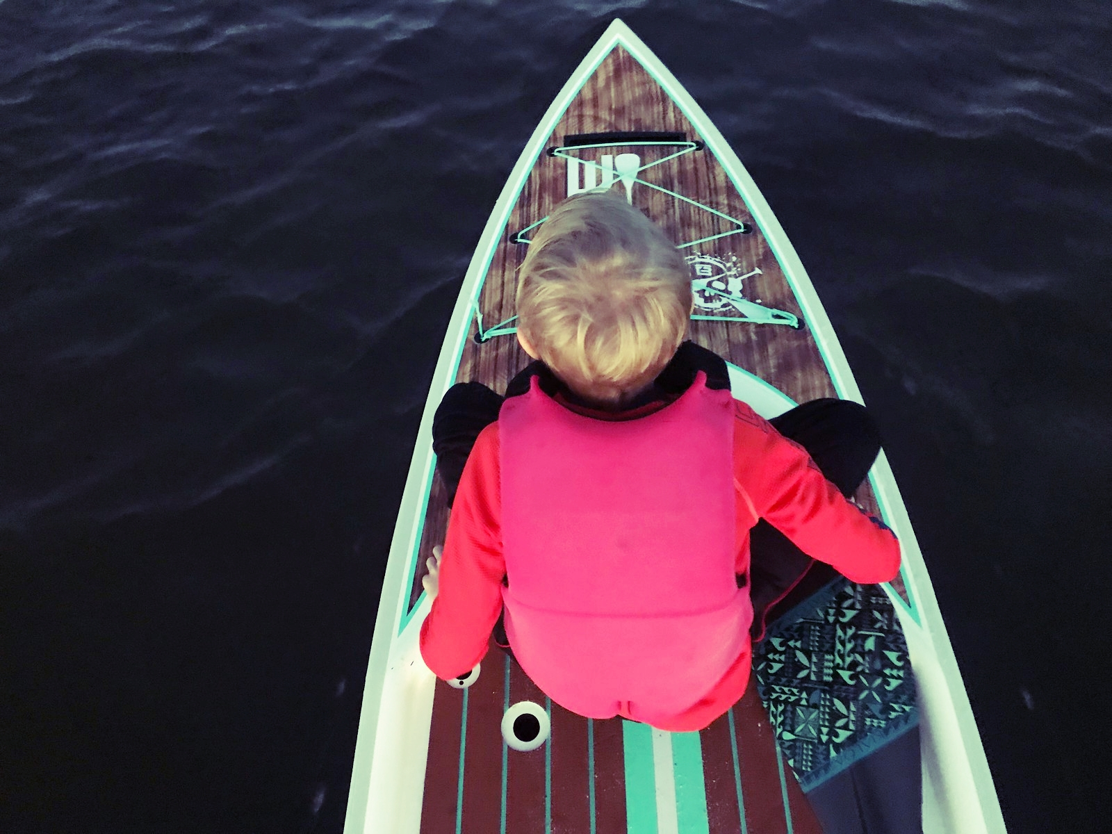 Paddling can be fun for the whole family.
