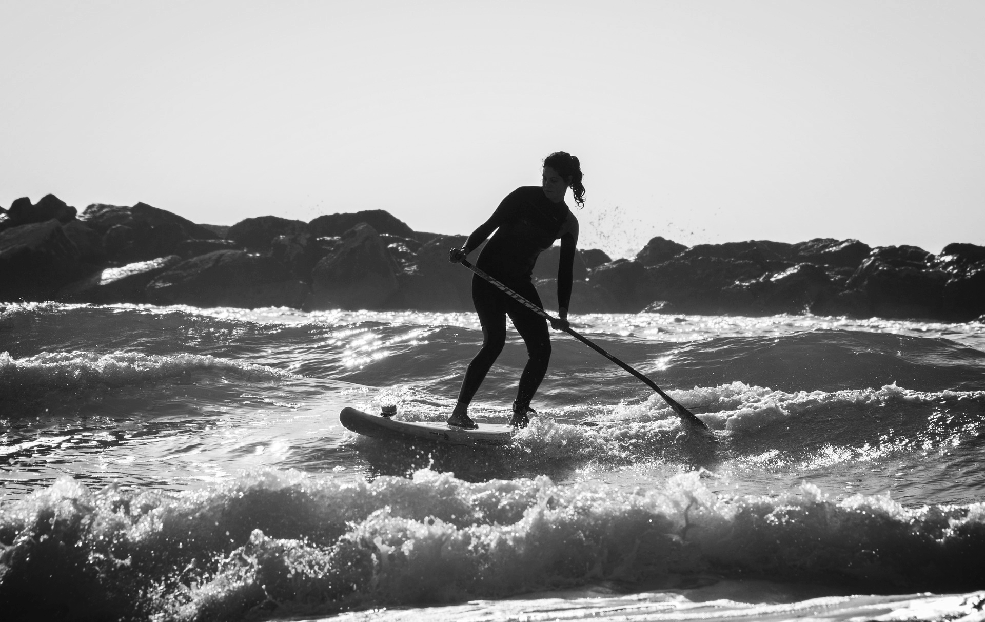 Modern stand up paddleboarding is a relatively new sport.