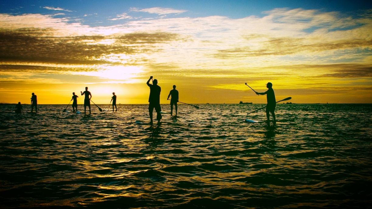 Be sure to have the proper safety equipment for sunrise and sunset paddling.