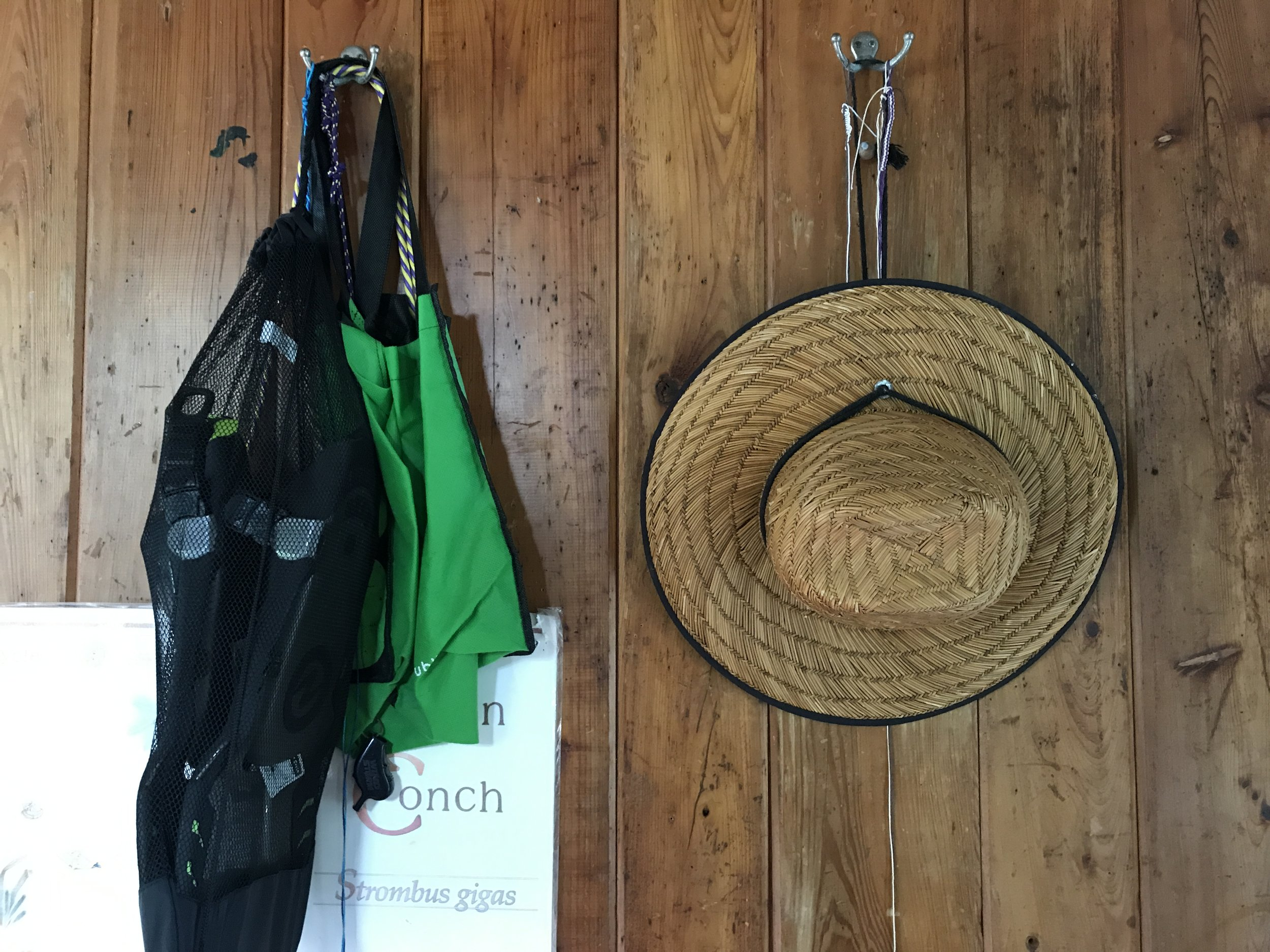 Remember to wear a hat when you paddle - we're partial to the big straw ones that provide plenty of shade!