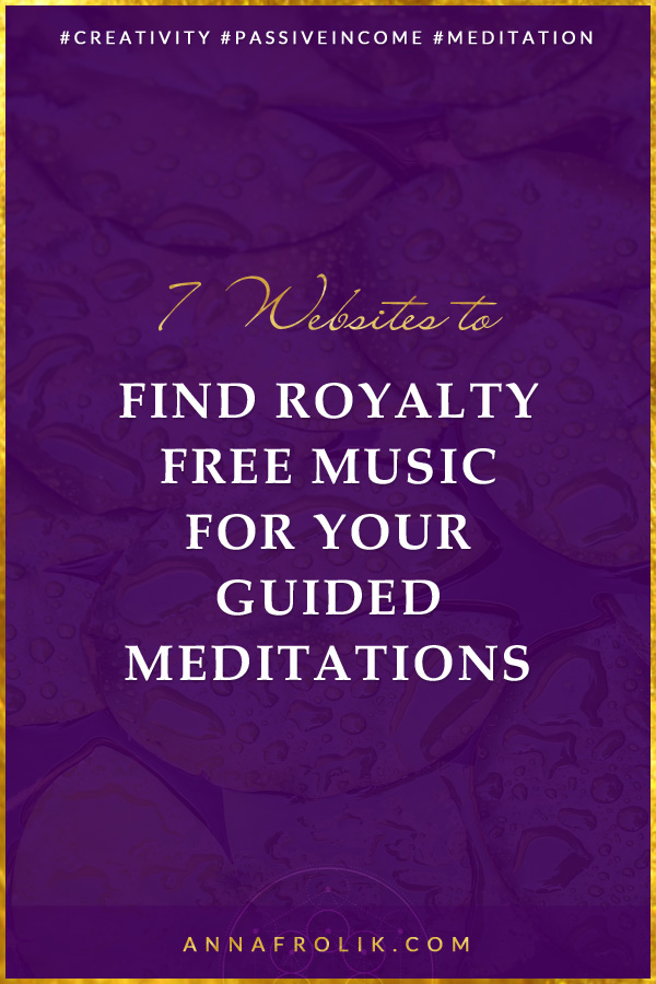 7 Places to Find Beautiful Royalty Free Music for Your Guided Meditations | #creative #business #spirituality #meditation