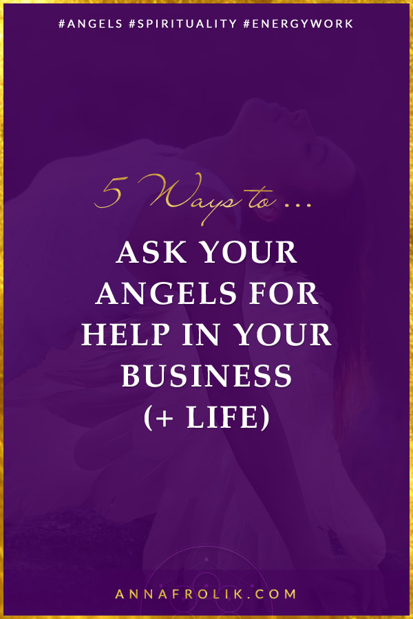 How to Ask Your Angels for Help in Your Business | #angels #spirituality #manifestation #business #energy #healing