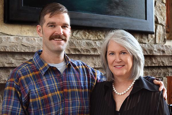 Grayson Smith and Patty Smith