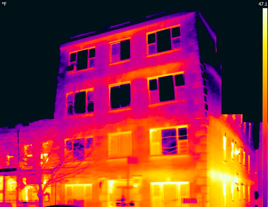 Infrared roof Inspections -