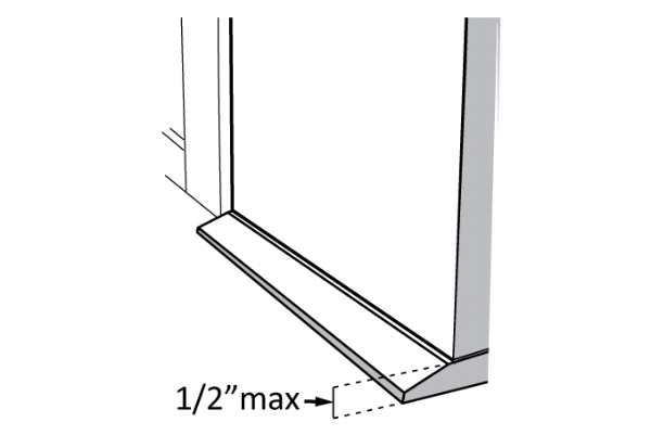 Entry Door Threshold Beveled Height Limit half inch rule.png