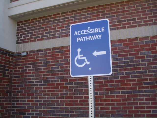ADA Accessible Pathway Sign