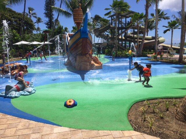 Hale Koa Pool Complex Play Area