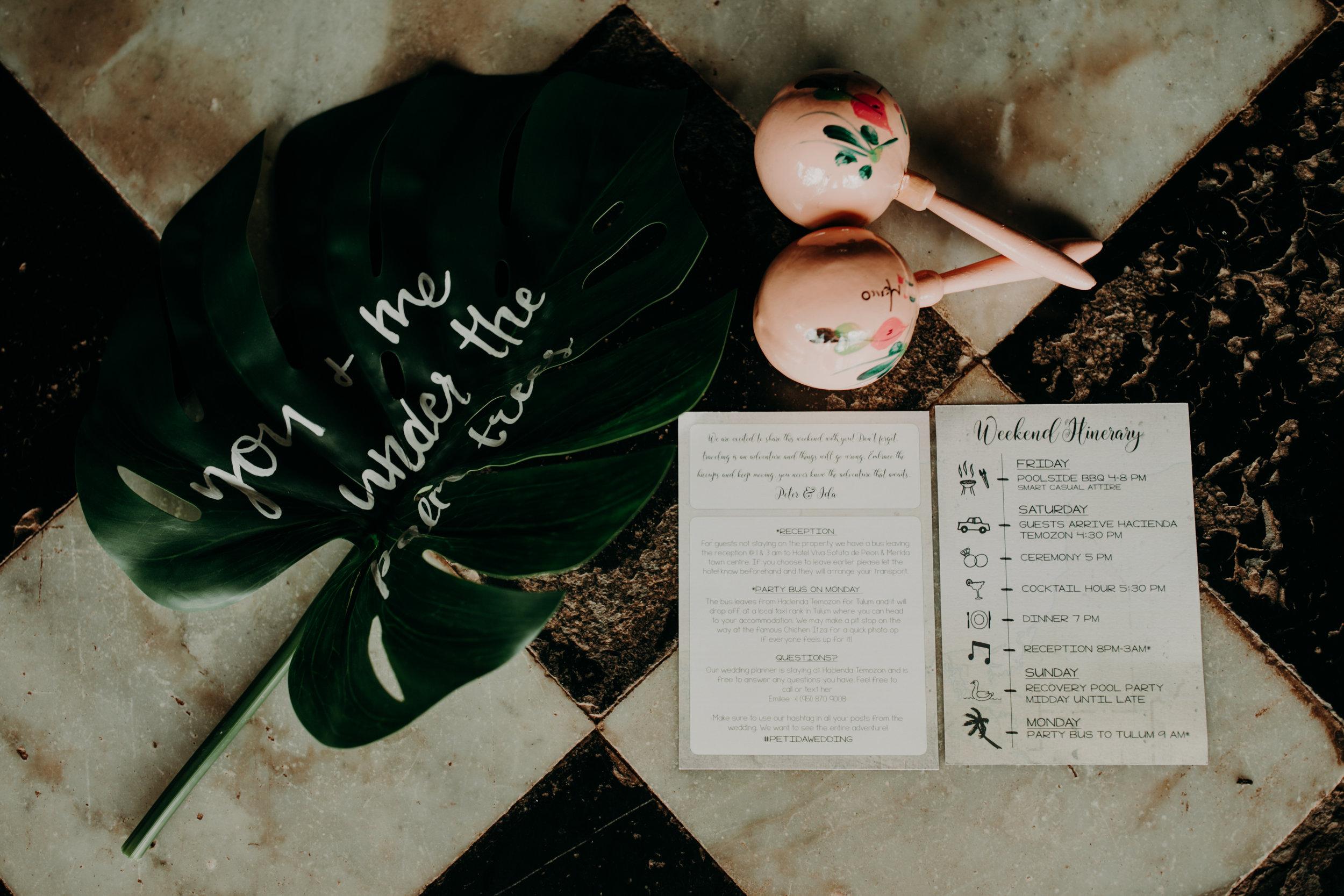 Hacienda Temozon Yucatan Mexico Wedding | Ida & Peter Emily Magers Photography-269.jpg