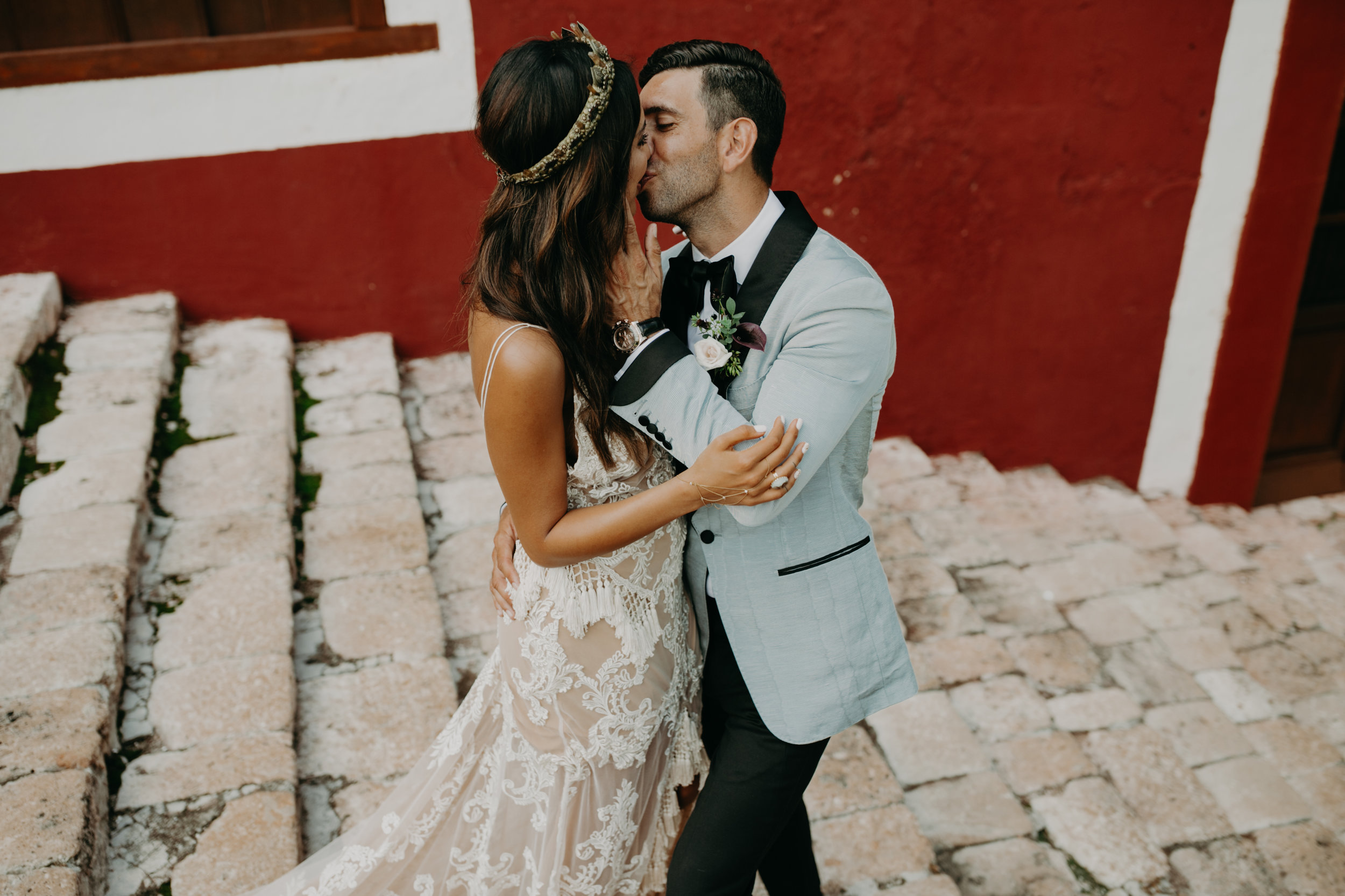 Hacienda Temozon Yucatan Mexico Wedding | Ida & Peter Emily Magers Photography-706.jpg