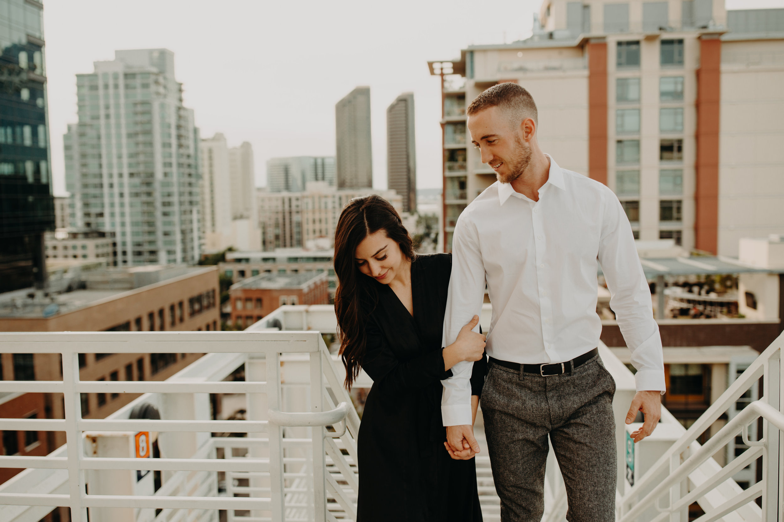 Rooftop San Diego Engagement Session Emilia & Christopher Emily Magers Photography-167.jpg