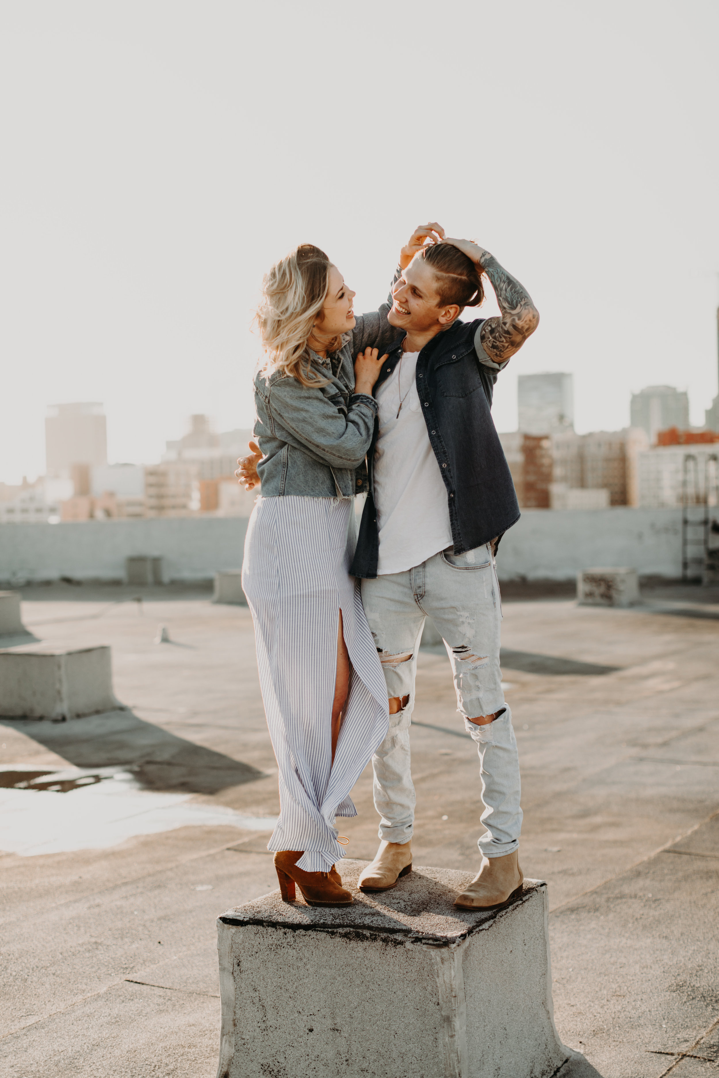 Los Angeles Rooftop Engagement Bayli & Ben  Emily Magers Photography-12.jpg