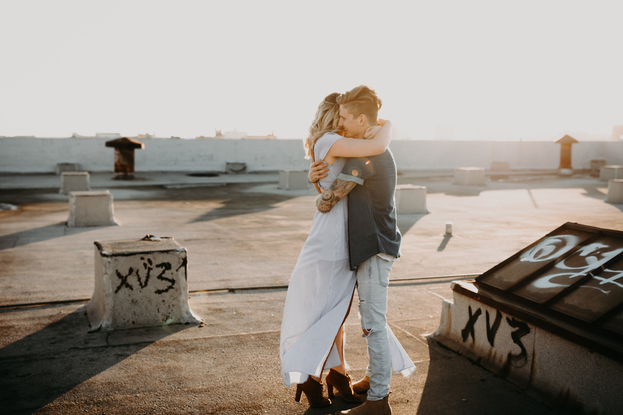 Los Angeles Rooftop Engagement Bayli & Ben  Emily Magers Photography-48.jpg