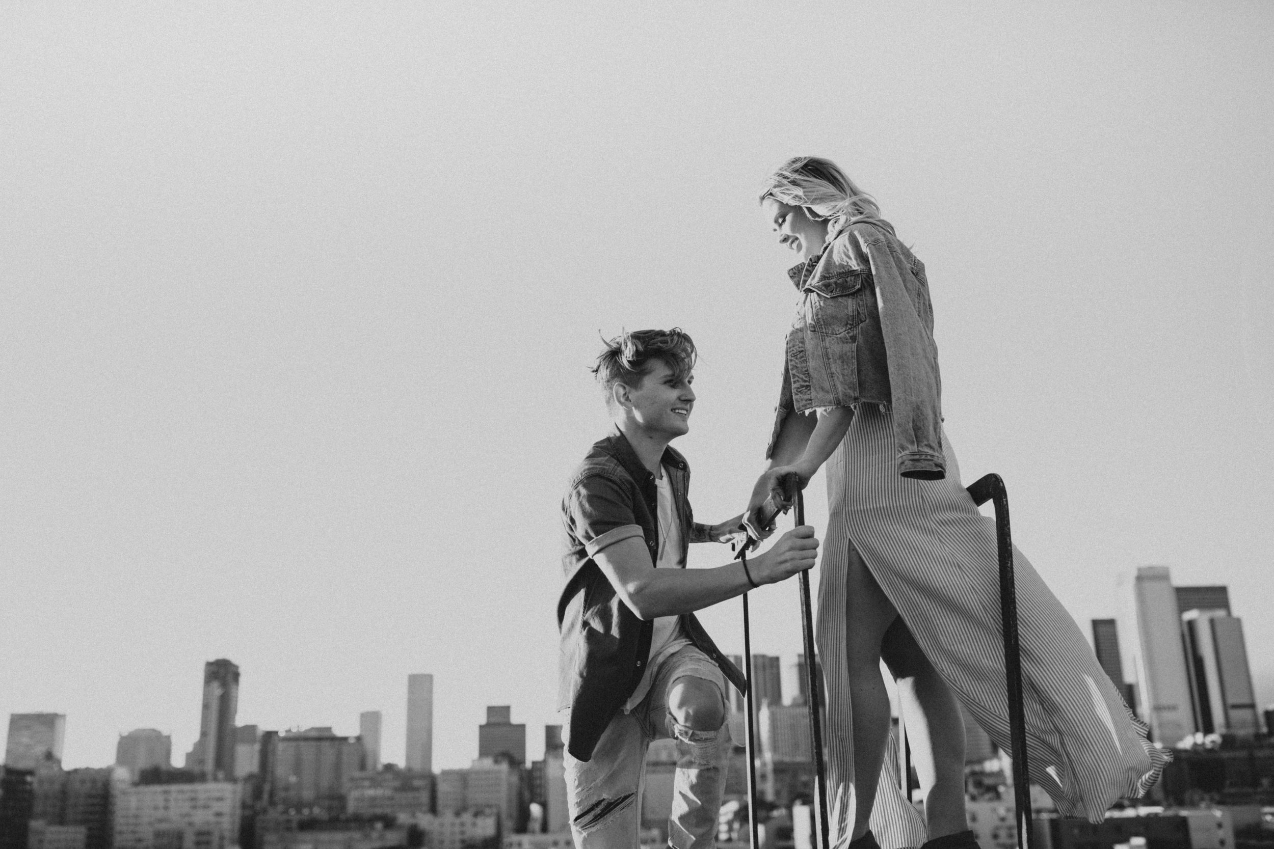 Los Angeles Rooftop Engagement Bayli & Ben  Emily Magers Photography-113.jpg