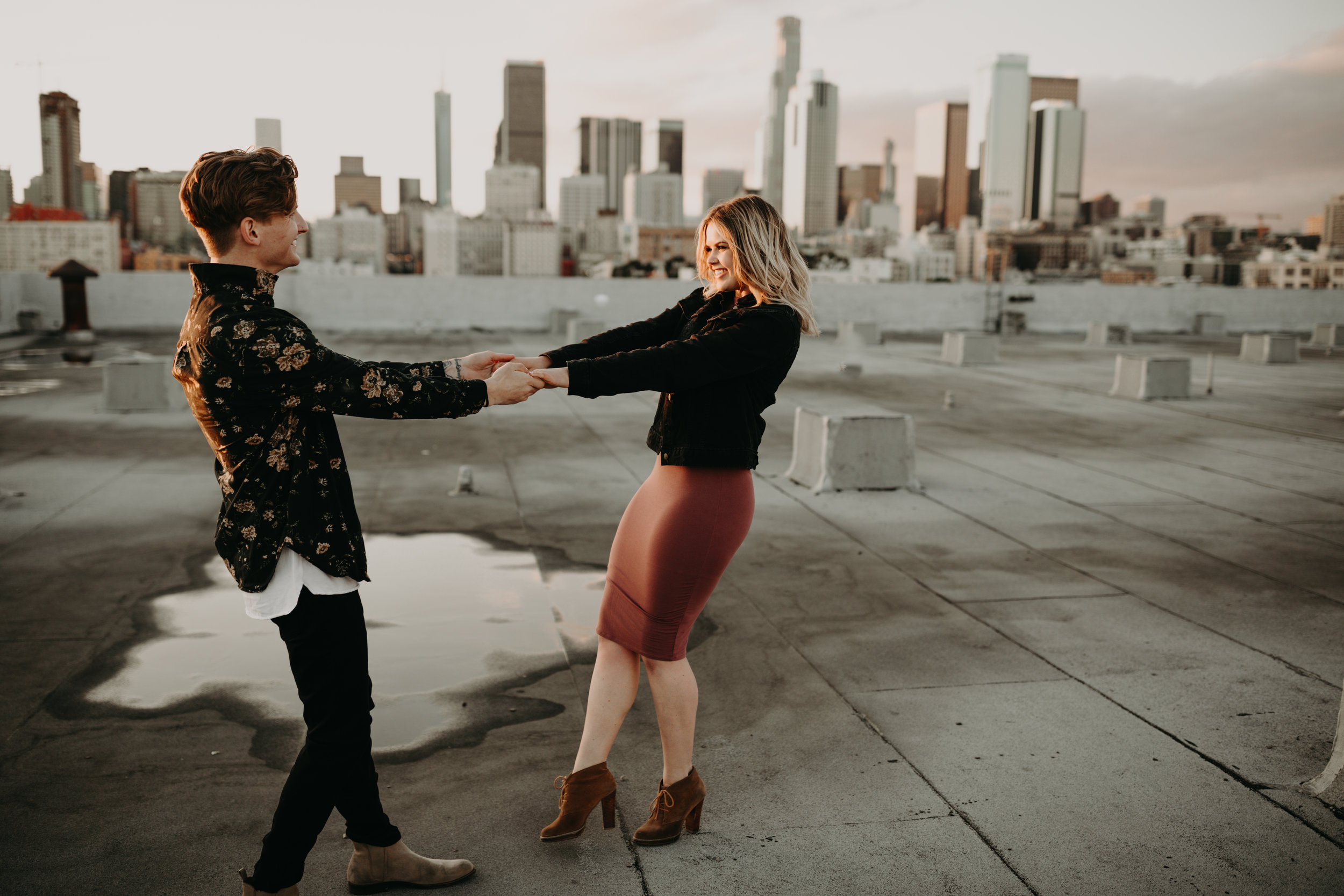 Los Angeles Rooftop Engagement Bayli & Ben  Emily Magers Photography-193.jpg