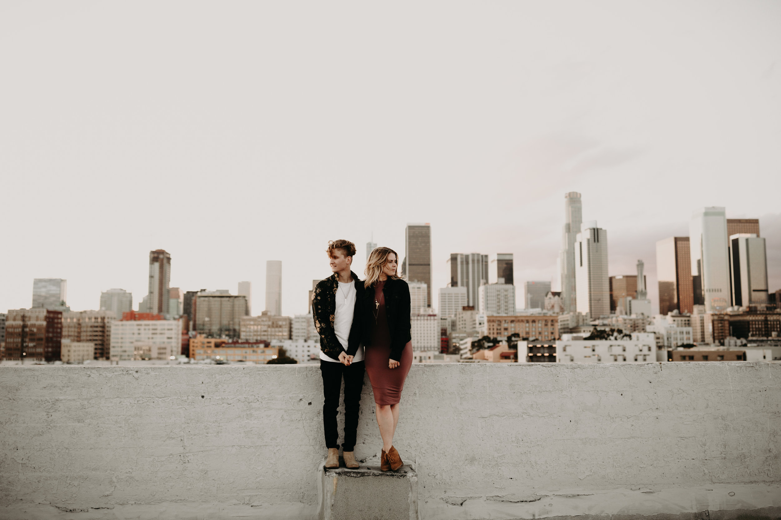 Los Angeles Rooftop Engagement Bayli & Ben  Emily Magers Photography-203.jpg