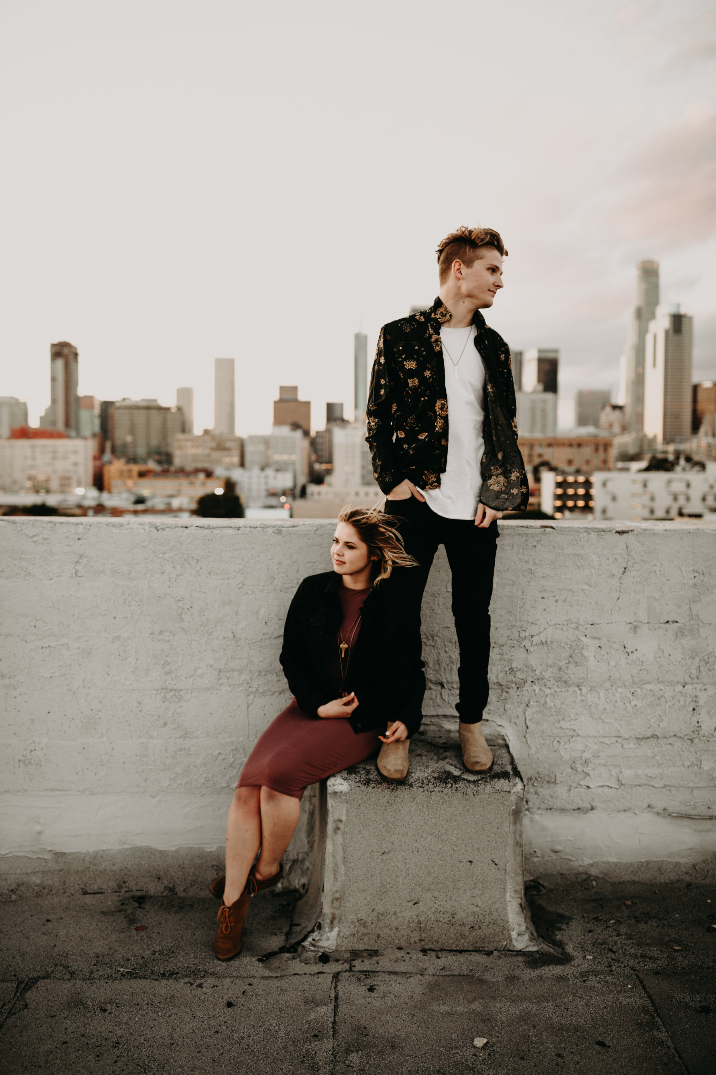 Los Angeles Rooftop Engagement Bayli & Ben  Emily Magers Photography-206.jpg