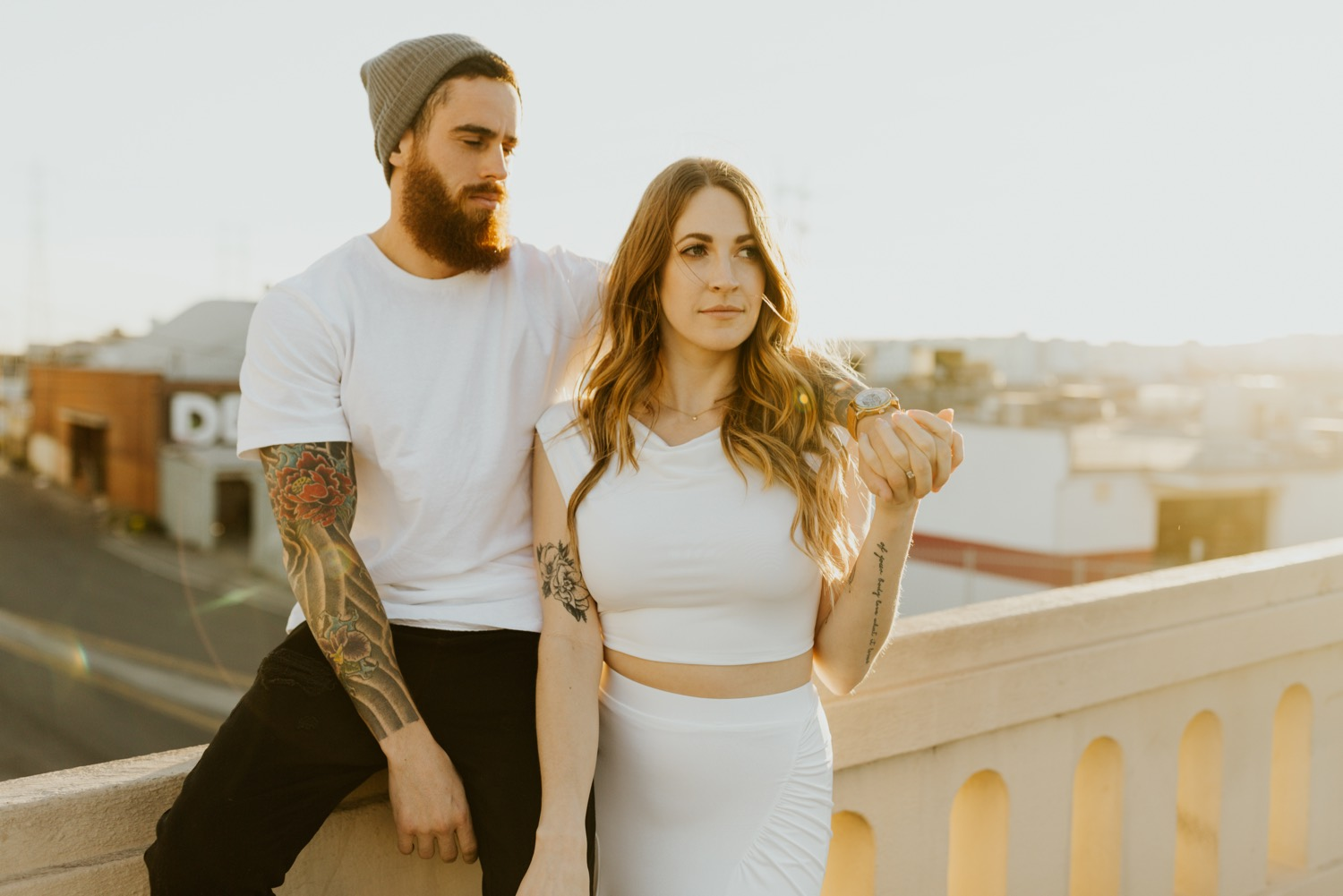 19_Downtown Arts District Los Angeles Engagement Session Megan & Ronnie | Emily Magers Photography-106.jpg